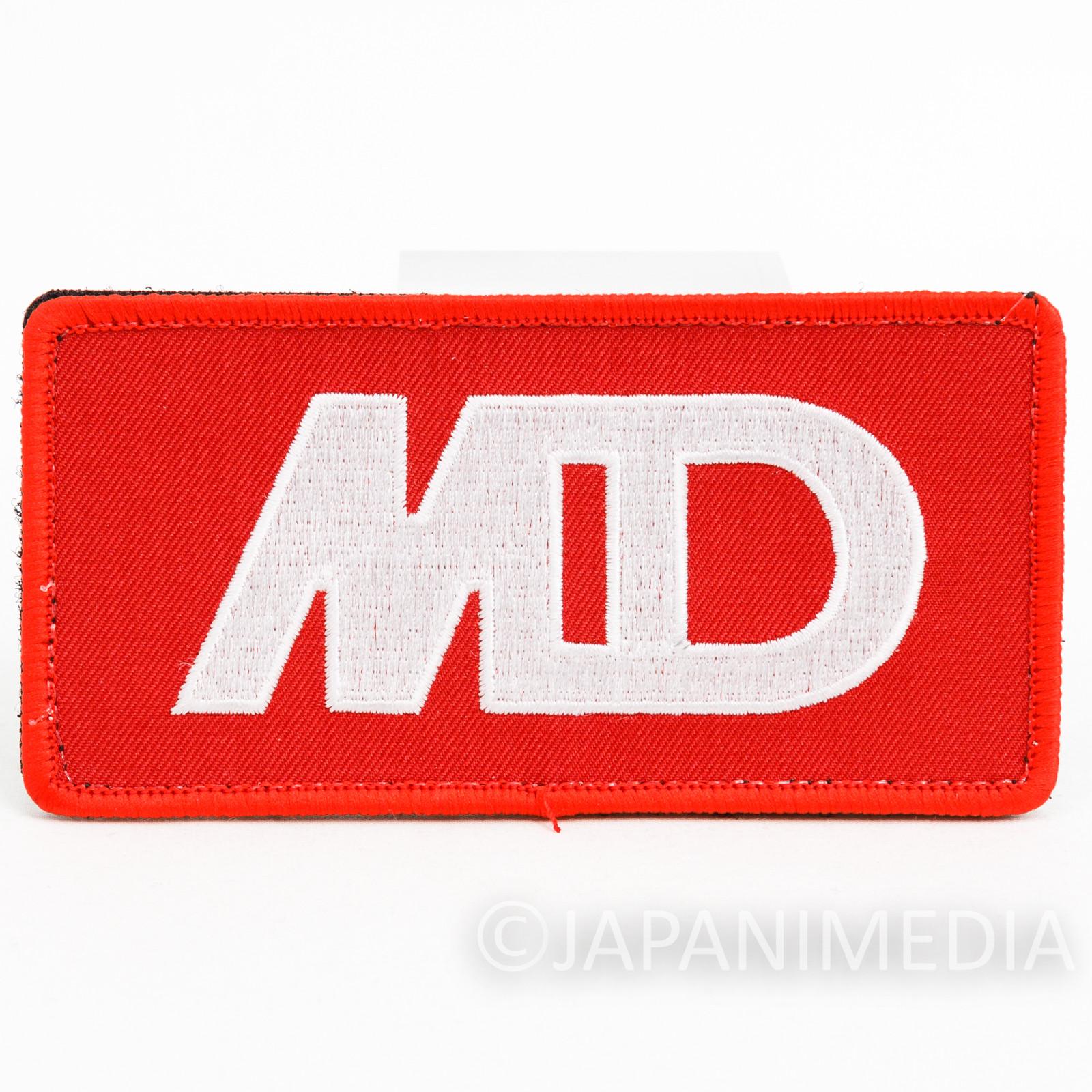 Yoroshiku Mechadoc Cloth Wappen Emblem Badge Magic Tape JAPAN ANIME