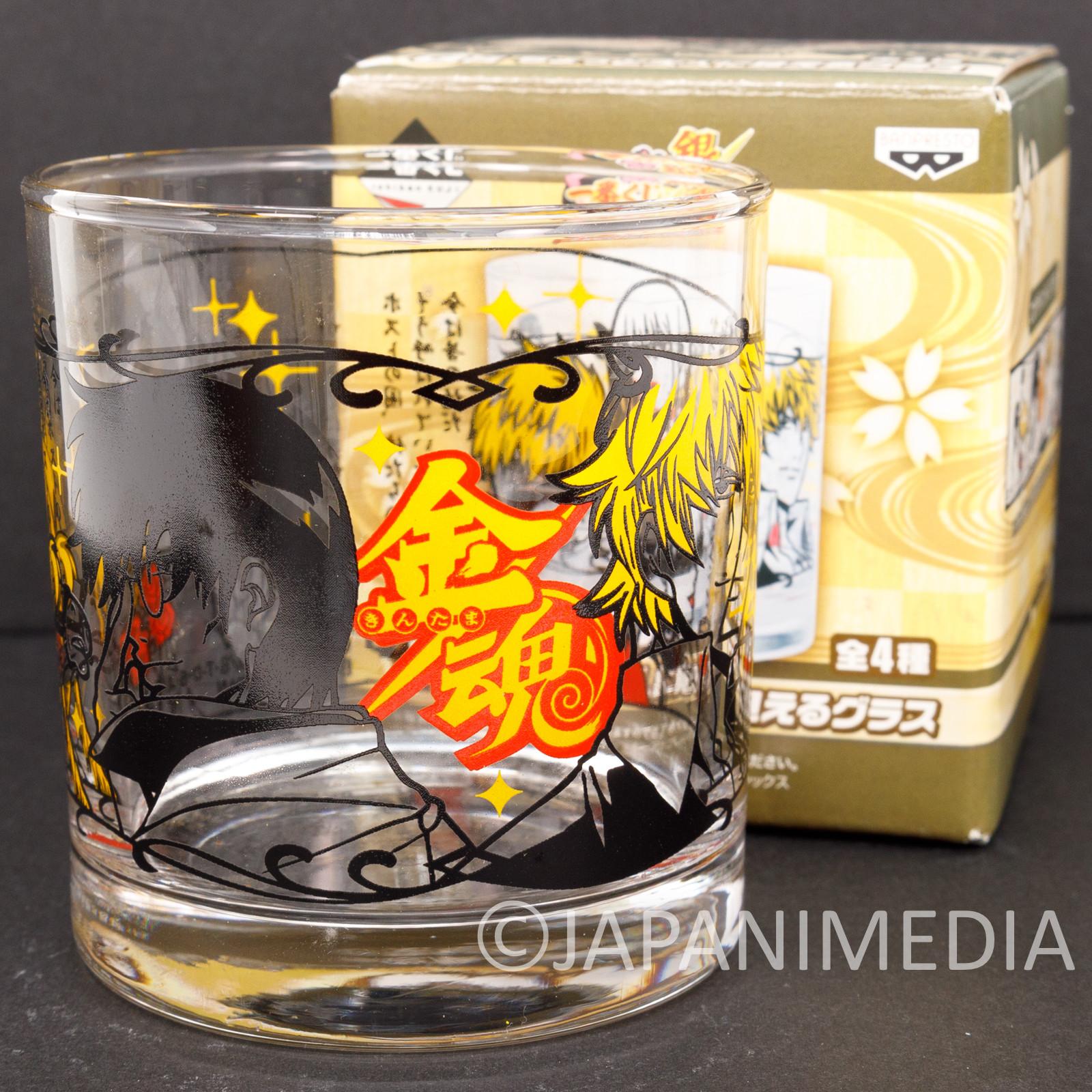 Gintama Rock Glass Kintama arc ver. JAPAN ANIME MANGA SHONEN JUMP