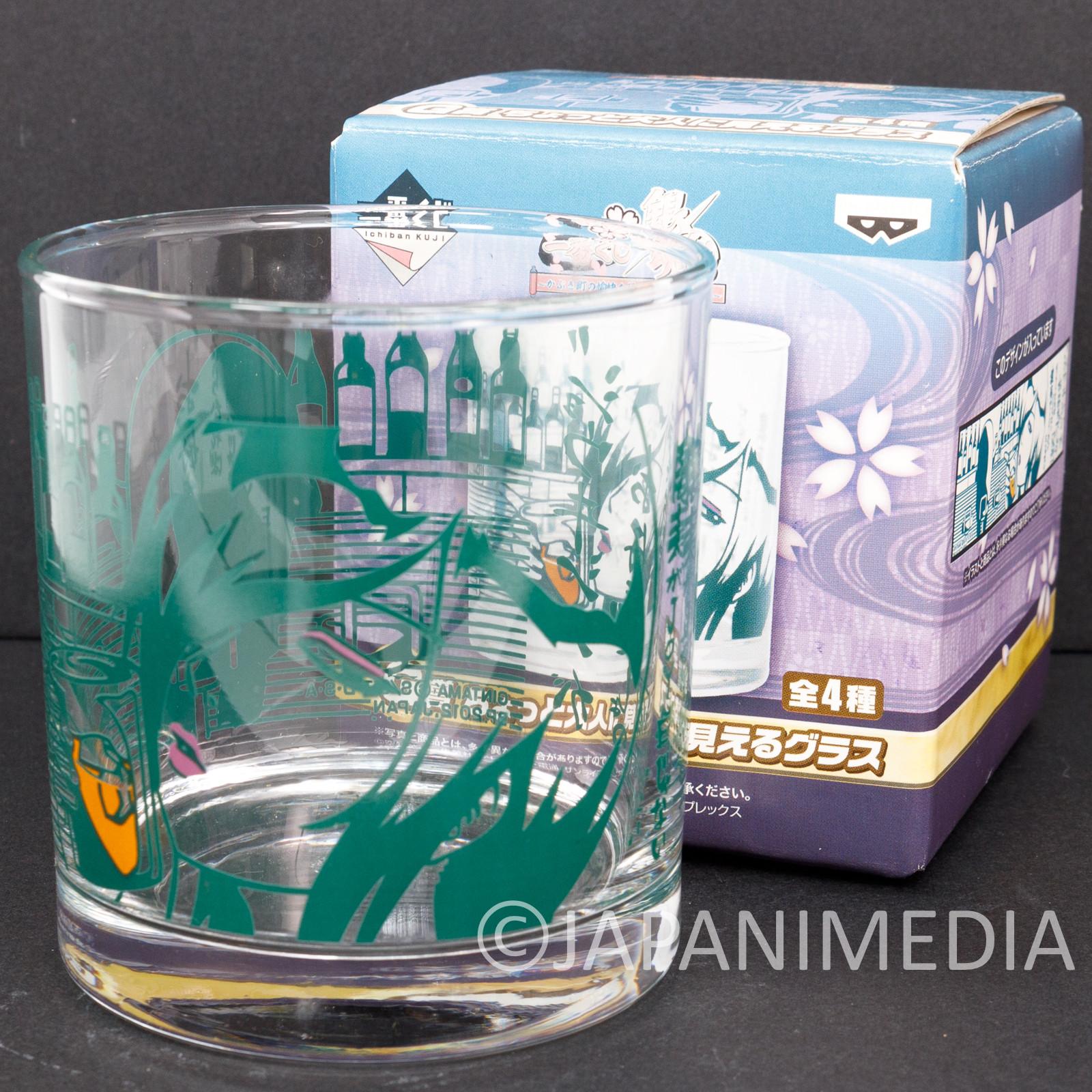 Gintama Rock Glass Zurako ver. JAPAN ANIME MANGA SHONEN JUMP