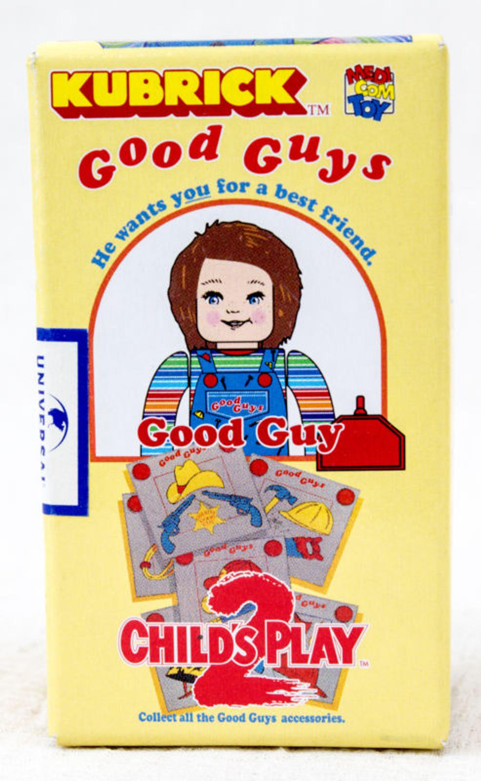 Child's Play 2 Good Guys Normal Chucky Figure Kubrick Medicom Toy JAPAN ANIME