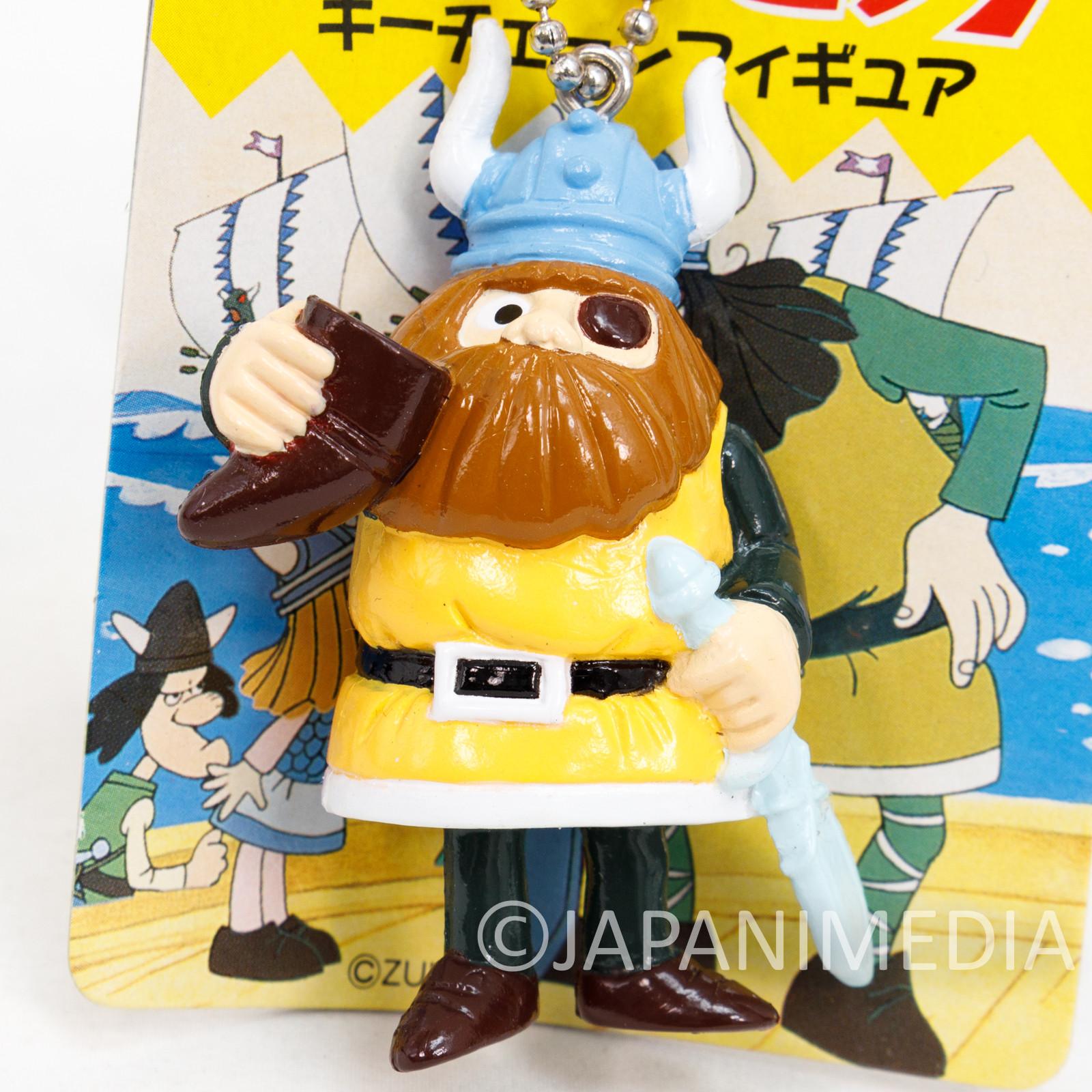 Vicky the Viking Vicke Halvar Figure Keychain SEGA JAPAN ANIME