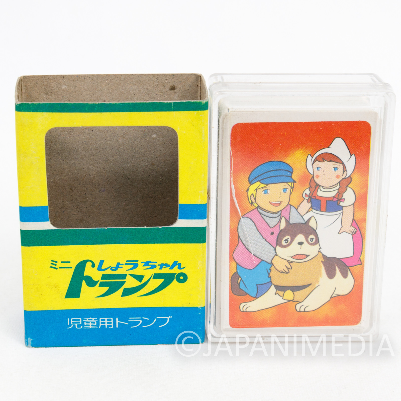 A Dog of Flanders Mini Playing Cards Game Trump JAPAN ANIME