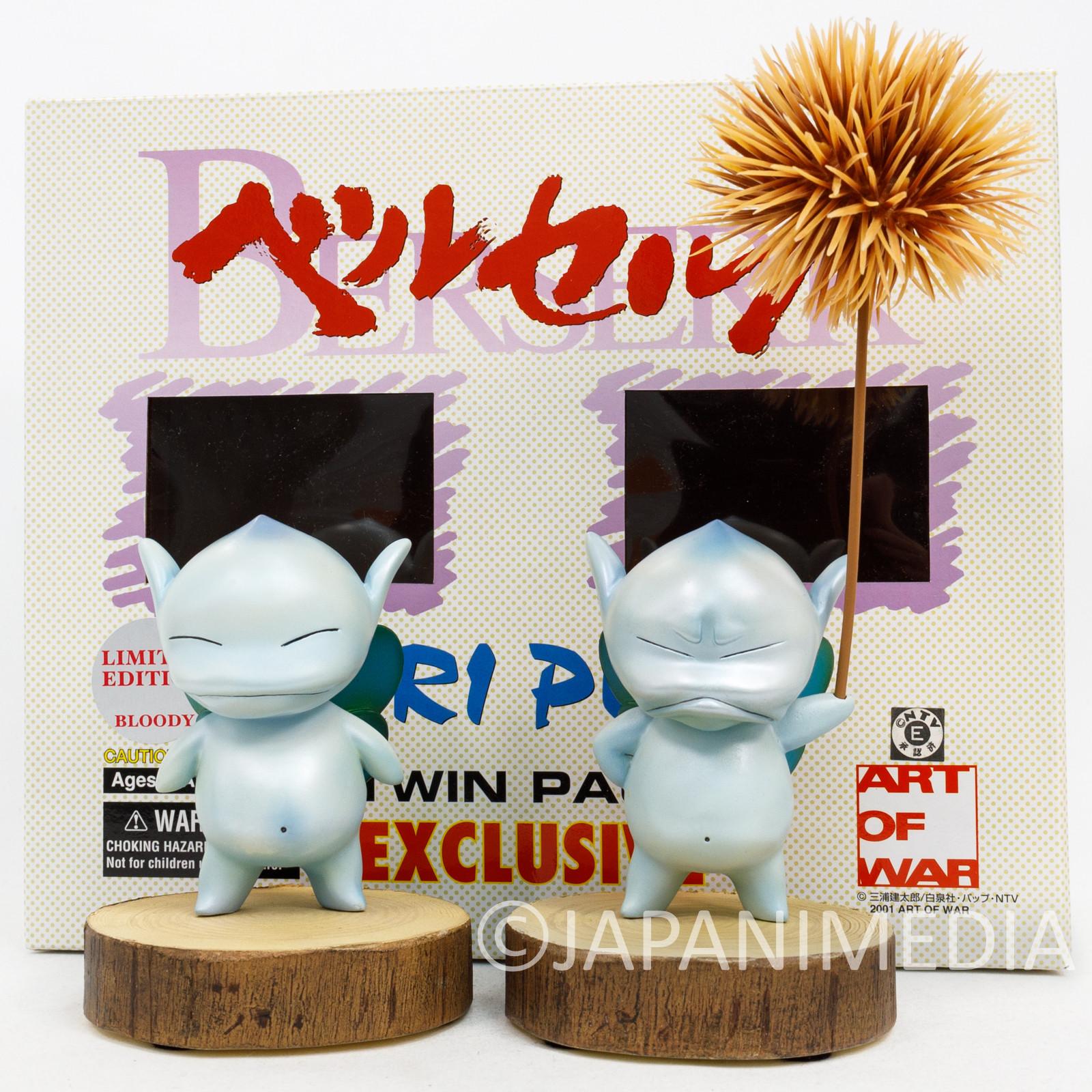 Berserk Art of War KURI PUCK Polystone Figure Twin Pack JAPAN ANIME MANGA