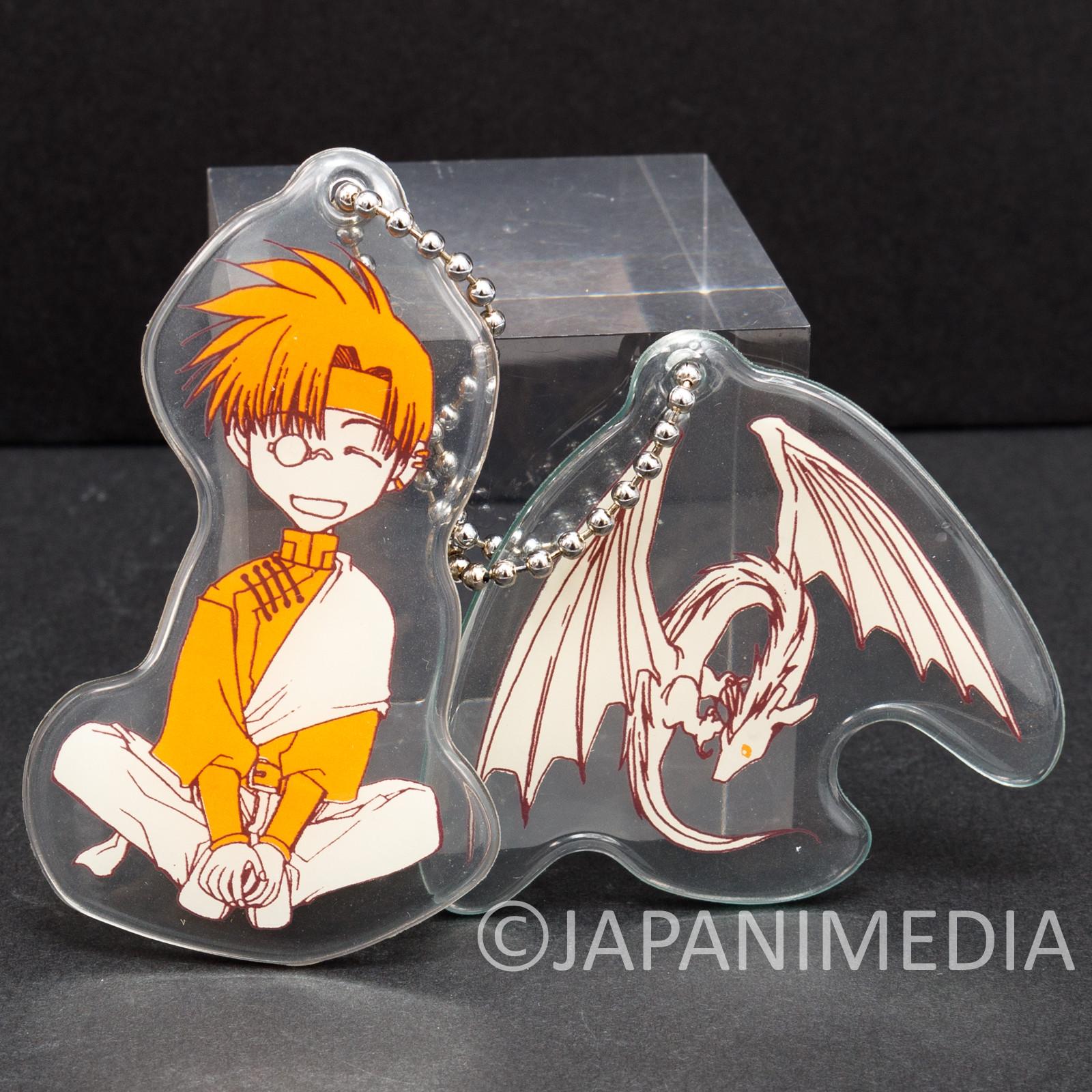 SAIYUKI Cho Hakkai Soft vinyl Mascot Keychain Movic Kazuya Minekura JAPAN
