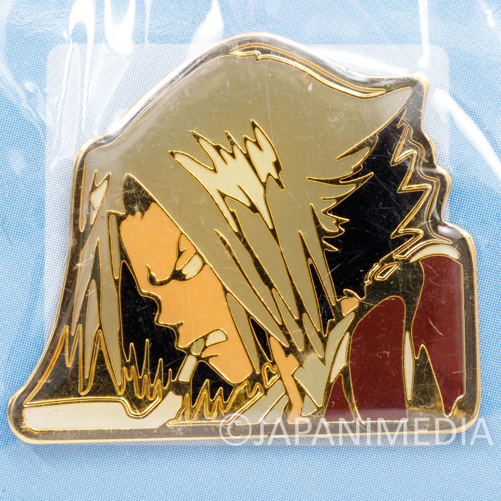 Katekyo Hitman REBORN! Hayato Gokudera Metal Pins JAPAN ANIME WEEKLY JUMP 2