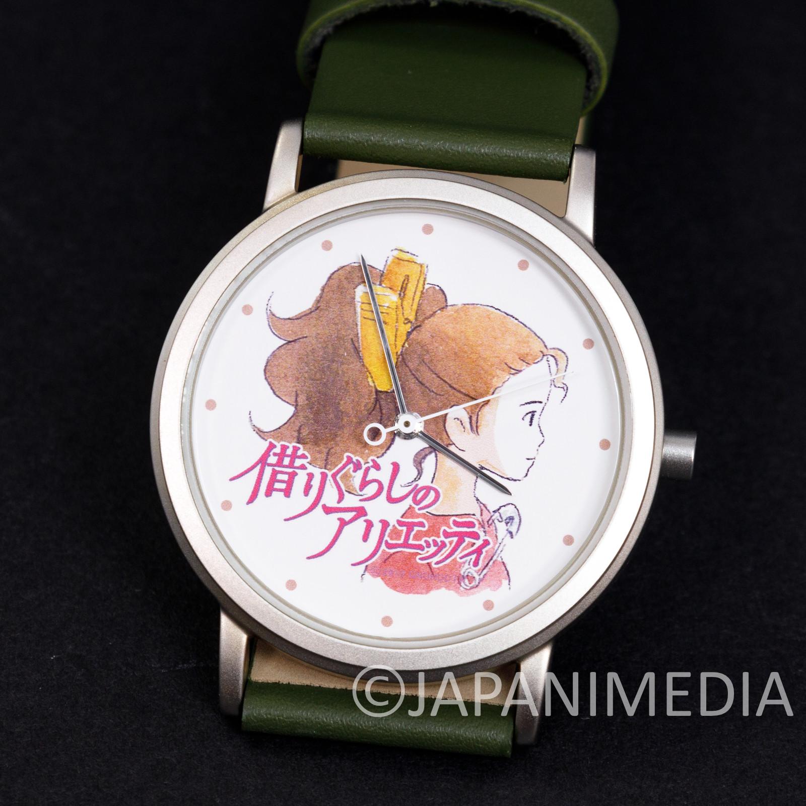 RARE The Secret World of Arrietty Wrist Watch Ghibli JAPAN ANIME