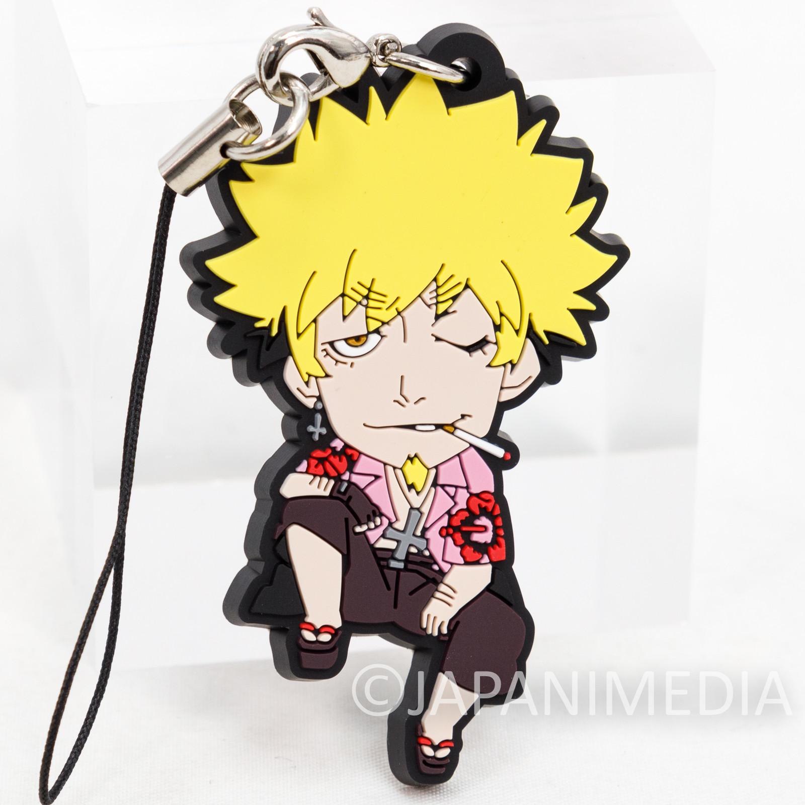 Bakemonogatari Meme Oshino Rubber Mascot Strap JAPAN ANIME Monogatari (series)