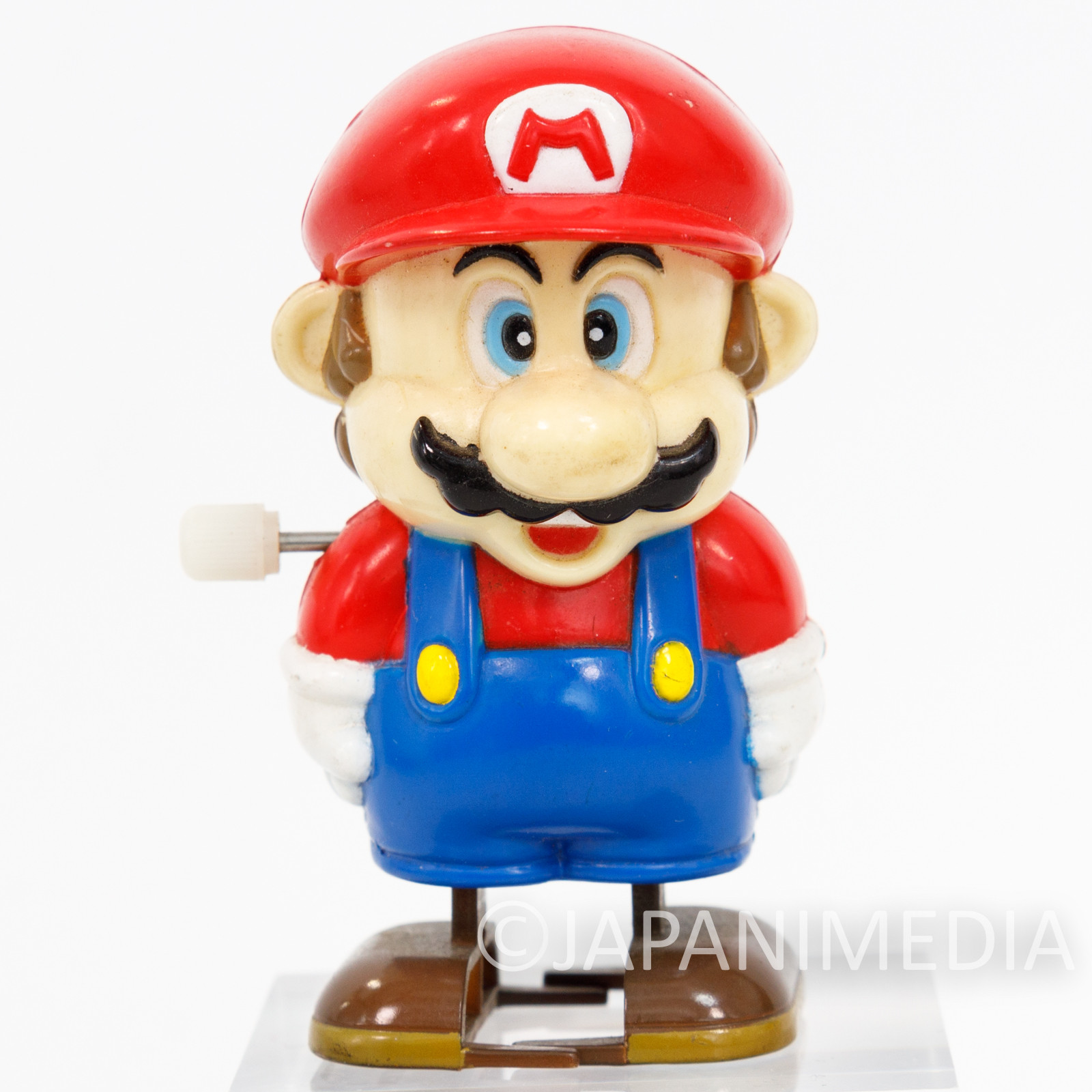 (JUNK ITEM :NOT WORKING) Super Mario Bros. Wind-up Walking Figure JAPAN GAME NES