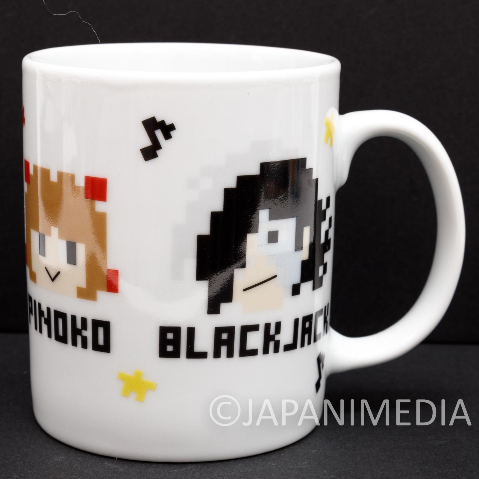 Osamu Tezuka Tokyo Pixel Mug #1 Black Jack Pinoko Astro Boy Atom Uran JAPAN