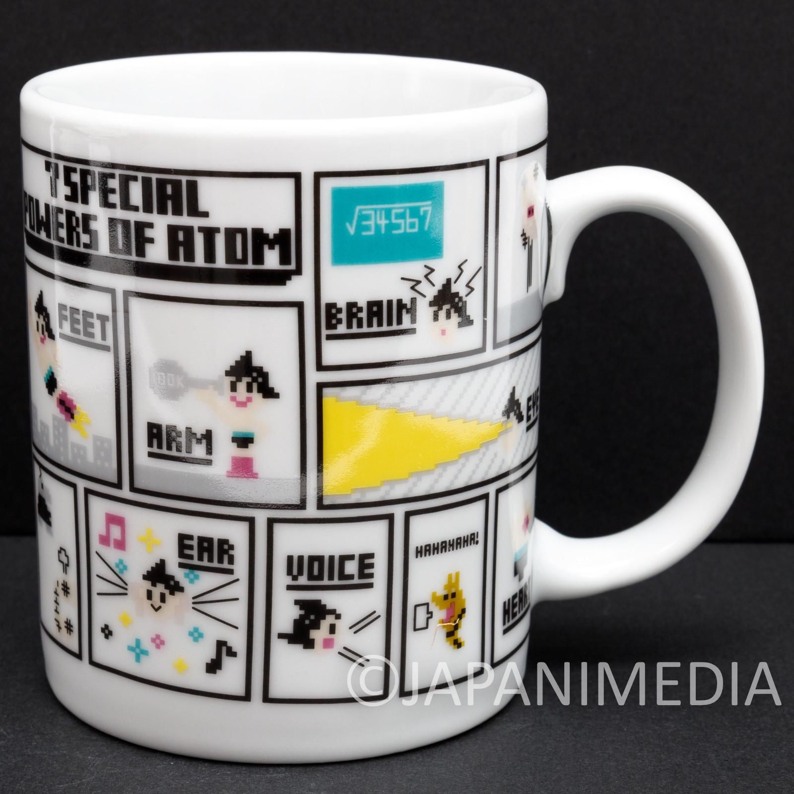 Osamu Tezuka Tokyo Pixel Mug #2 Power of Astro Boy Atom JAPAN
