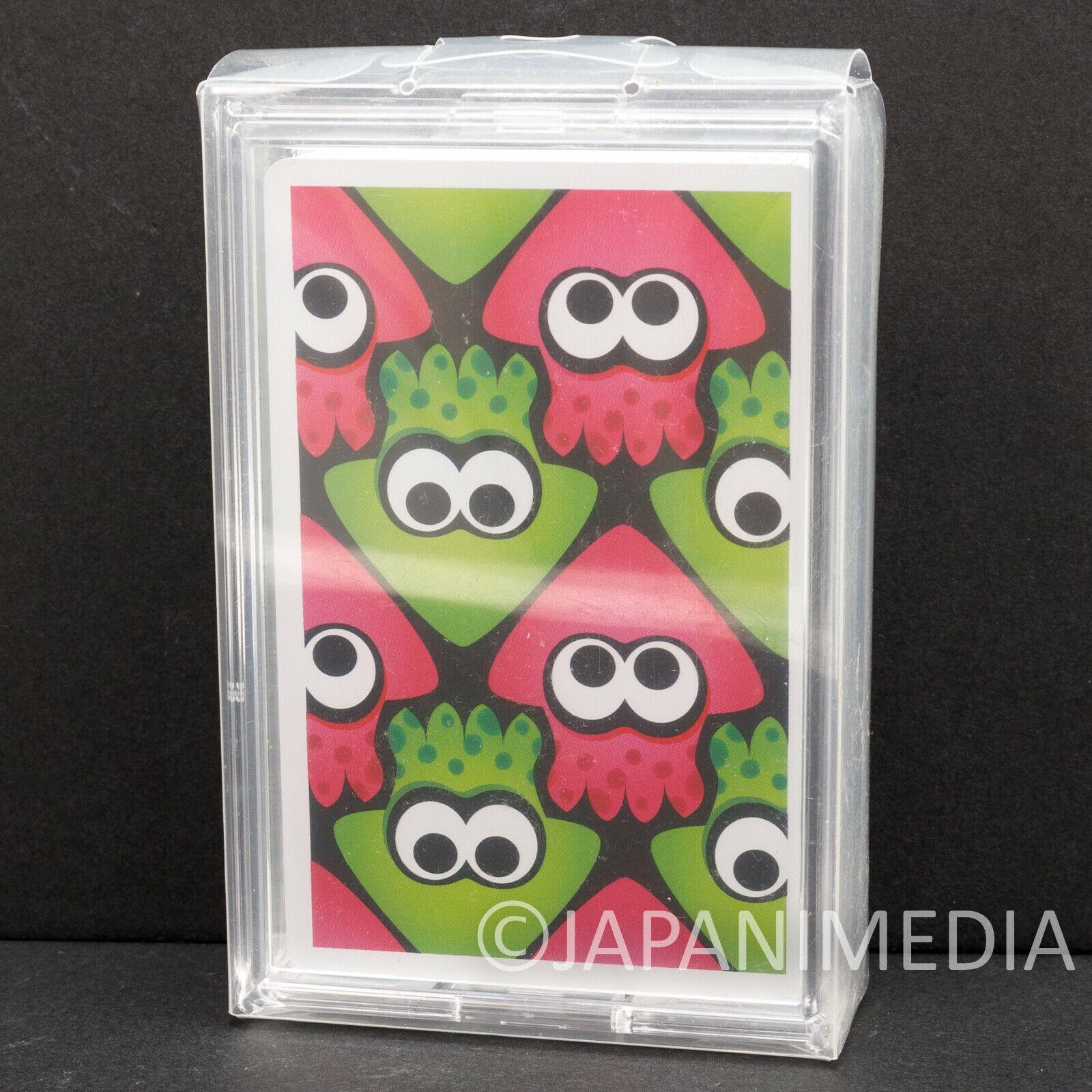 Splatoon Trump Playing Cards #3 Nintendo JAPAN Nintendo Switch
