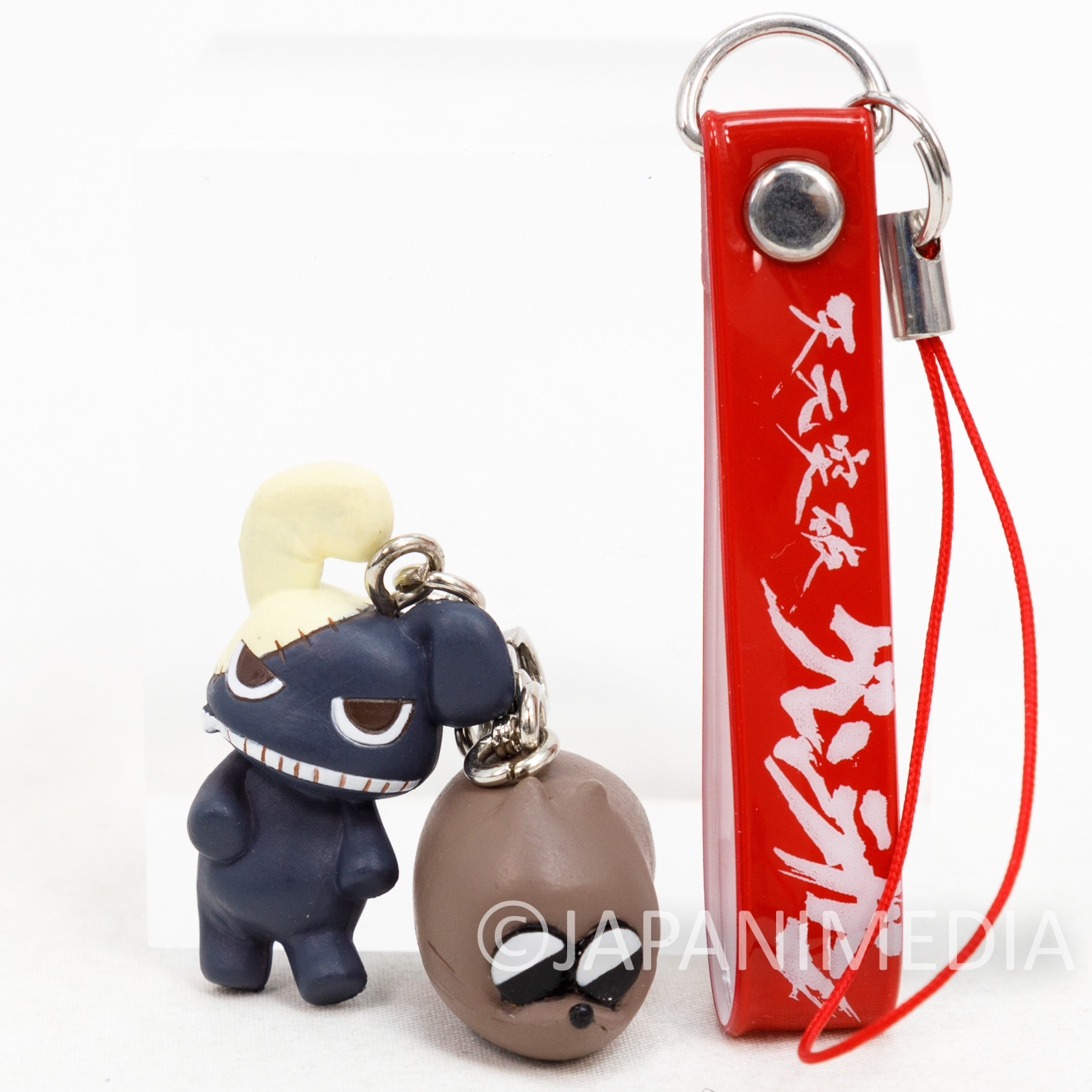 RARE! Gurren Lagann Boota & Yakuza Rabbit Mini Figure Mascot Strap Eyeup GAINAX