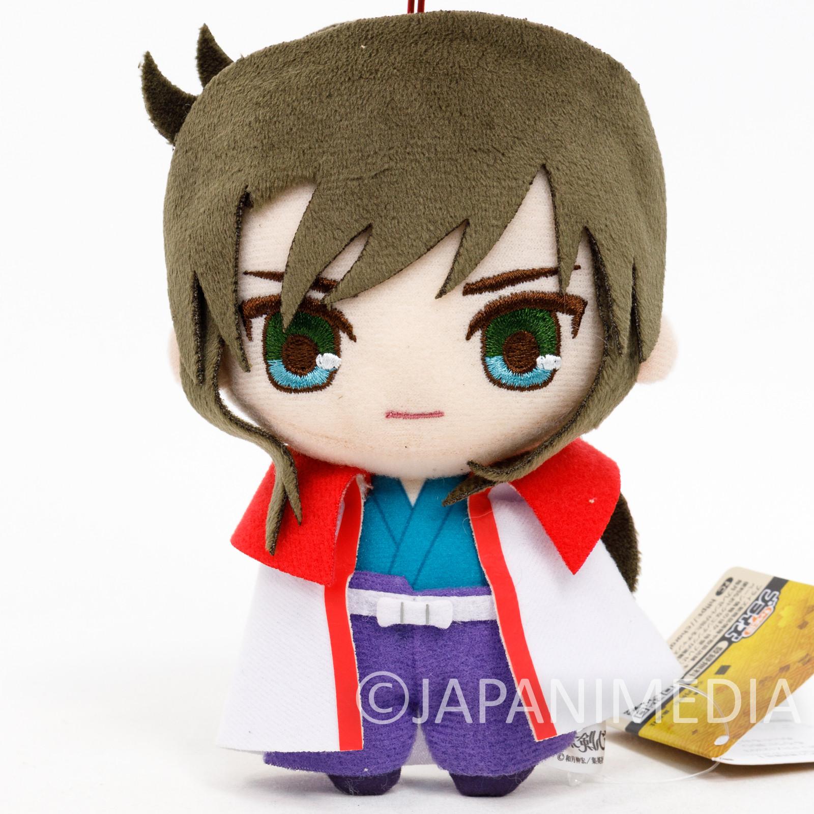 Rurouni Kenshin Seijuro Hiko Plush Doll w/Strap JAPAN ANIME