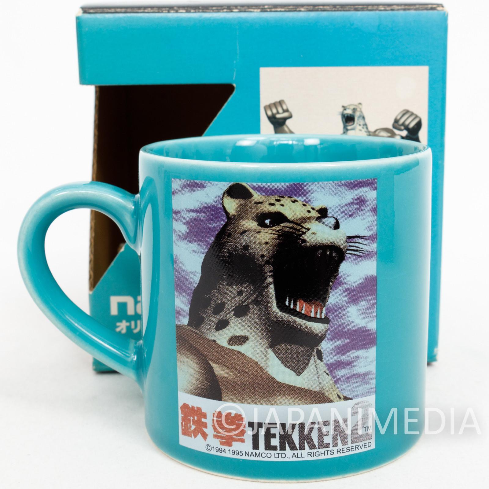 Retro RARE! Tekken 2 King Mug Namco JAPAN GAME
