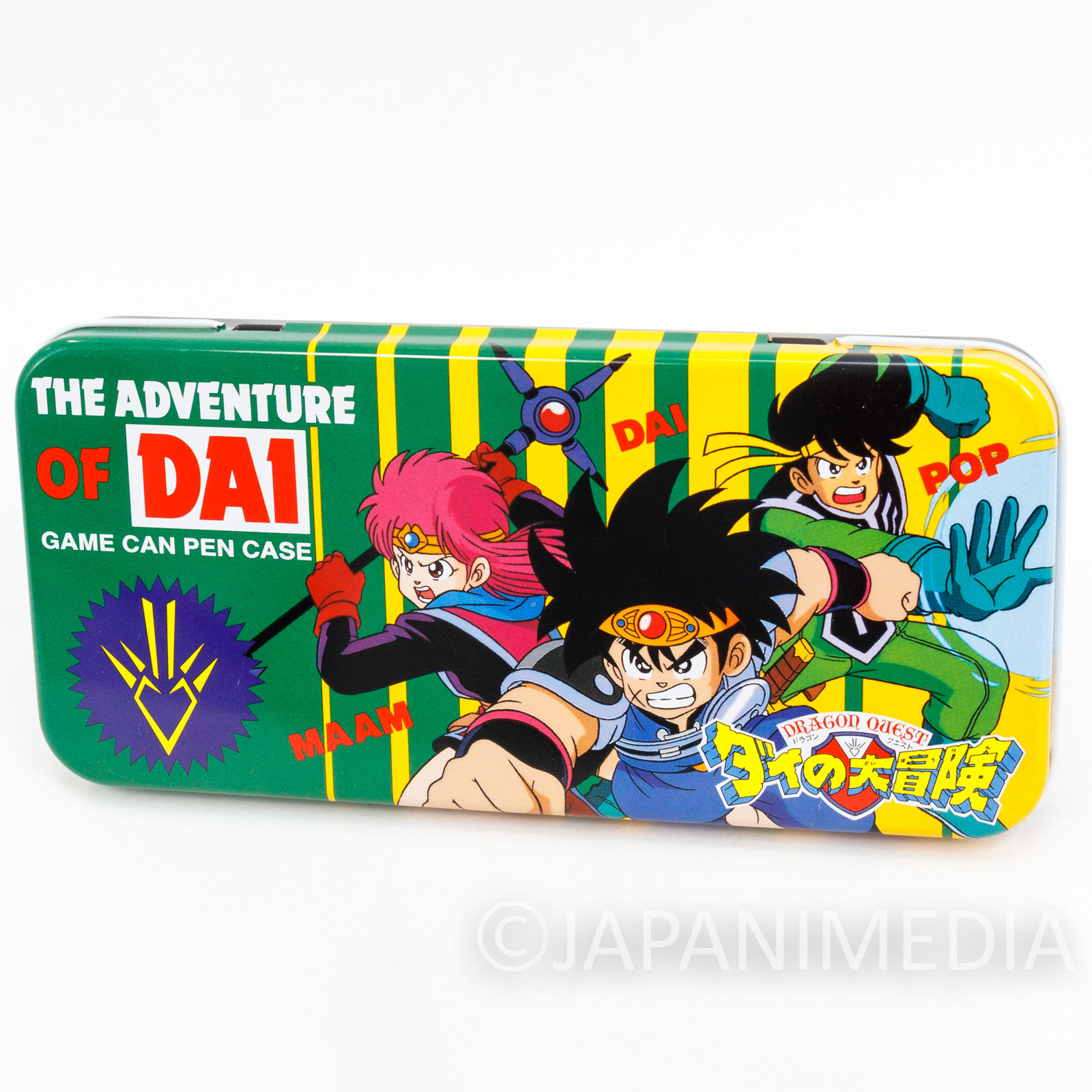 Dragon Quest: The Adventure of Dai Game Can Pen Case JAPAN ANIME MANGA