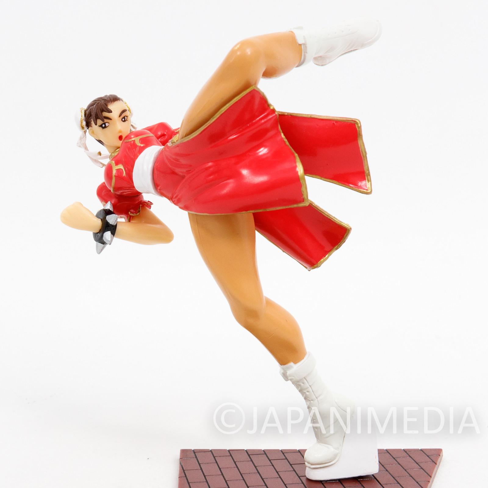 Street Fighter 2 Chun-Li Pink Kick ver Capcom Figure Collection JAPAN GAME