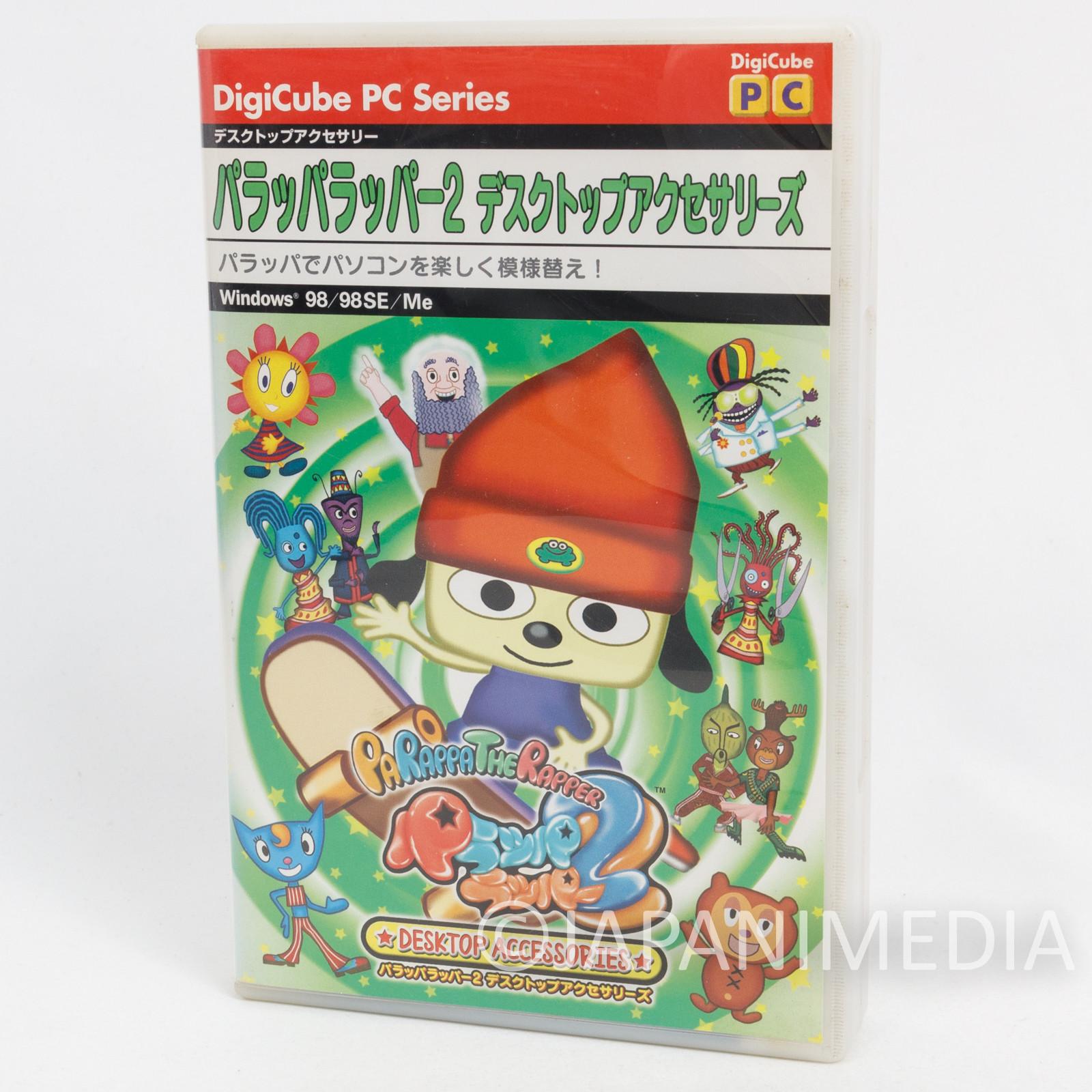 Parappa The Rapper CD-ROM Desktop Accesaries Digicube DTA Series Vol.4