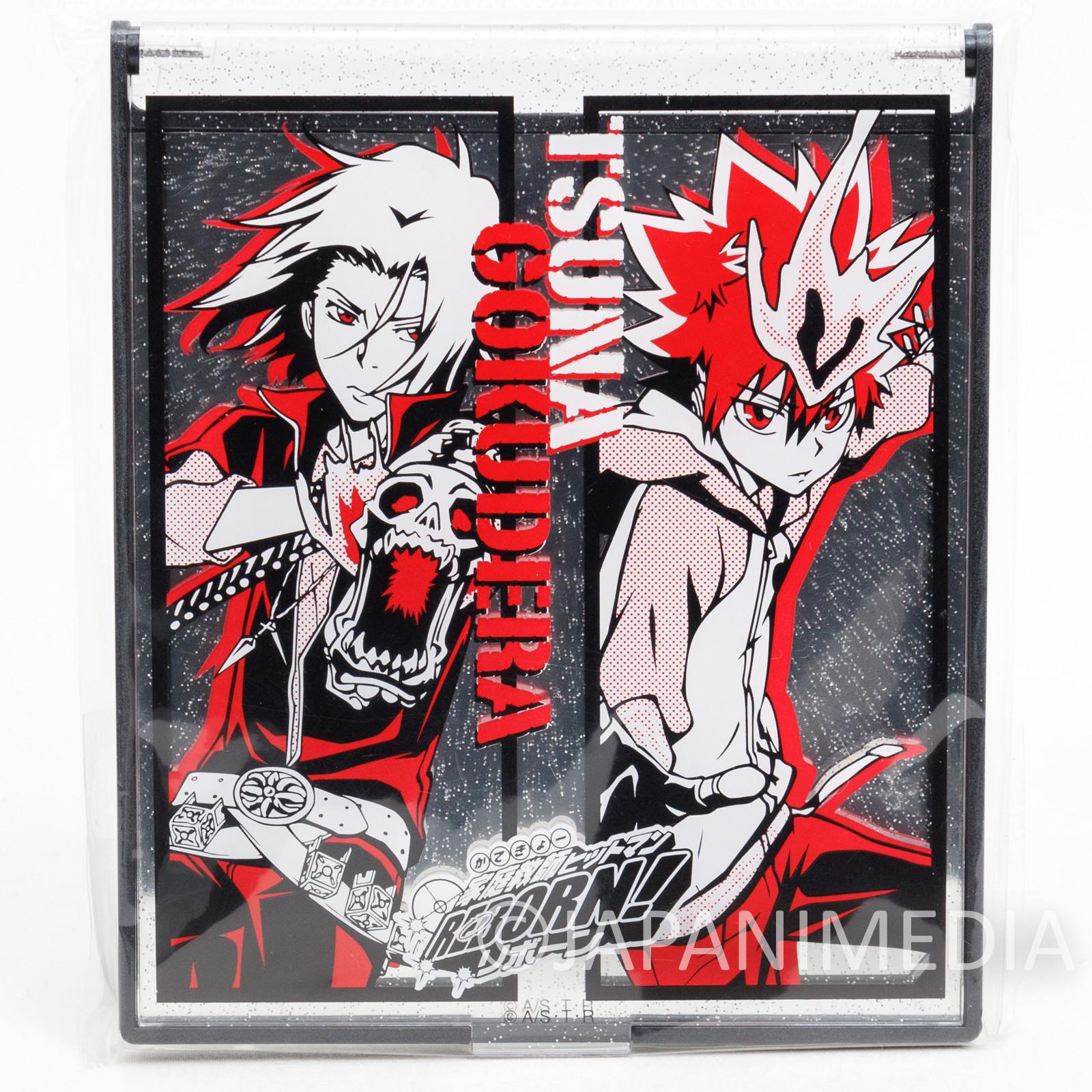 Katekyo Hitman REBORN! Tsunayoshi Sawada Hayato Gokudera Compact Mirror ver.3