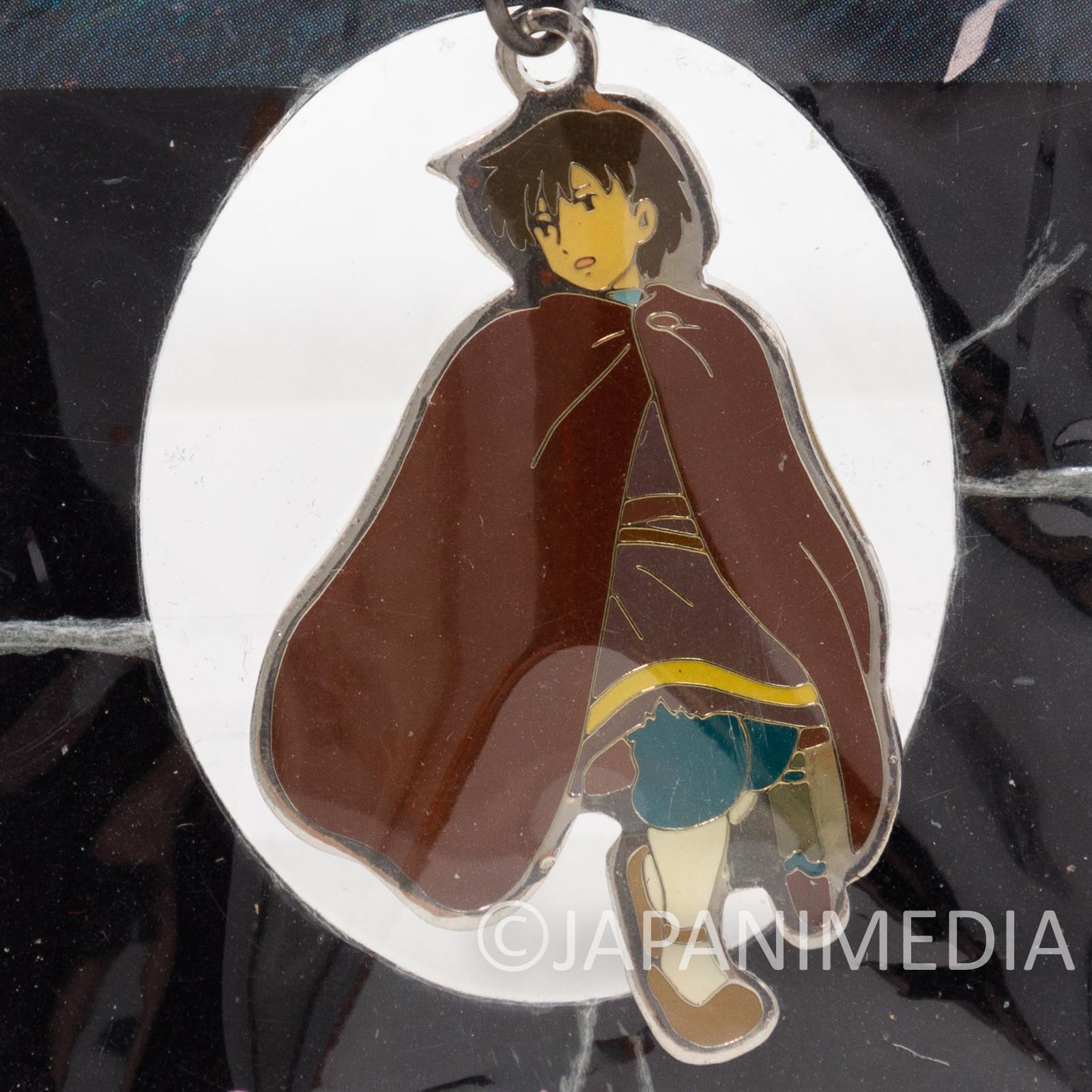 Tales from EARTHSEA Gedo Senki Arren Metal Mascot Ballchain Ghibli JAPAN ANIME
