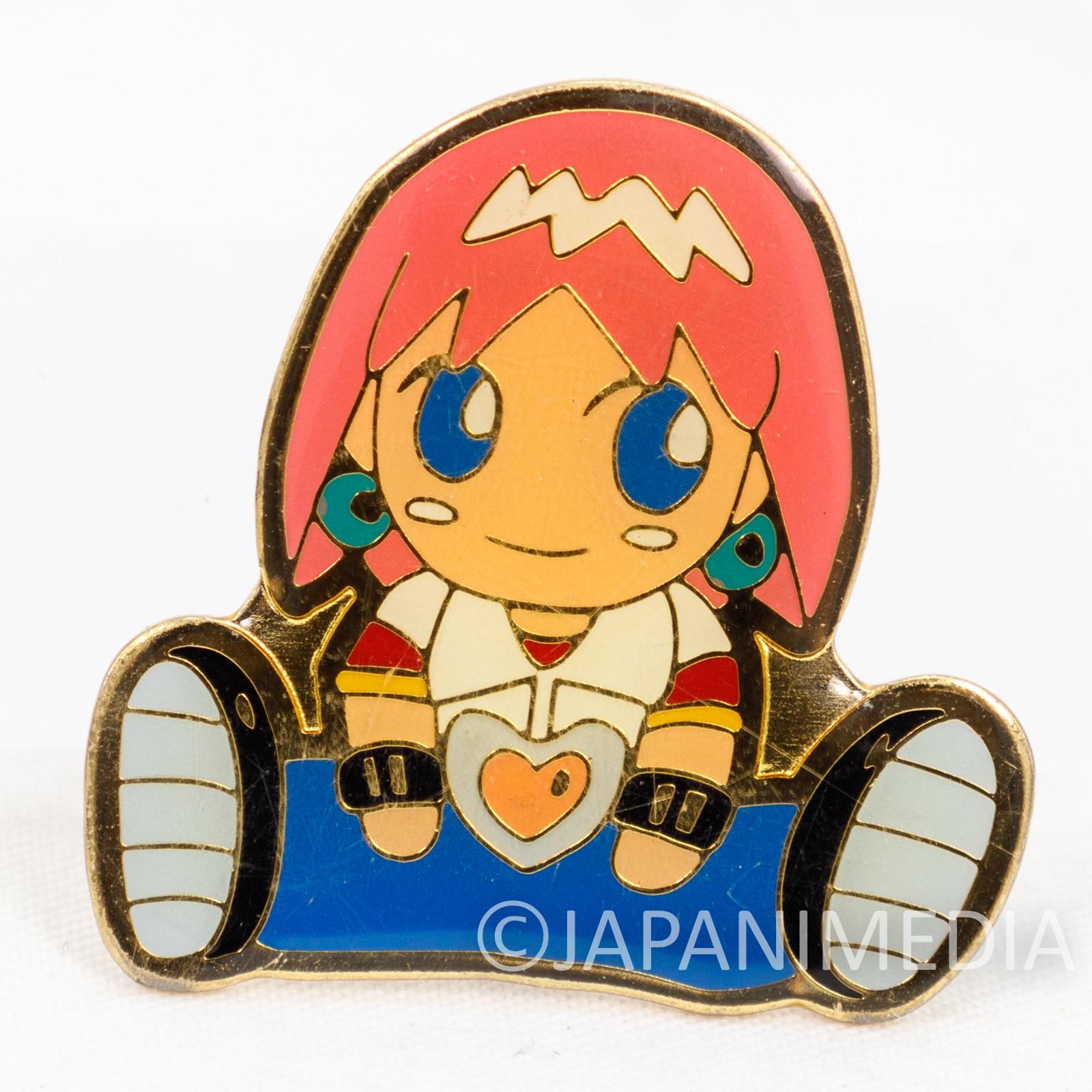 Bobobo-bo Bo-bobo Beauty Metal Pins Shonen Jump JAPAN ANIME