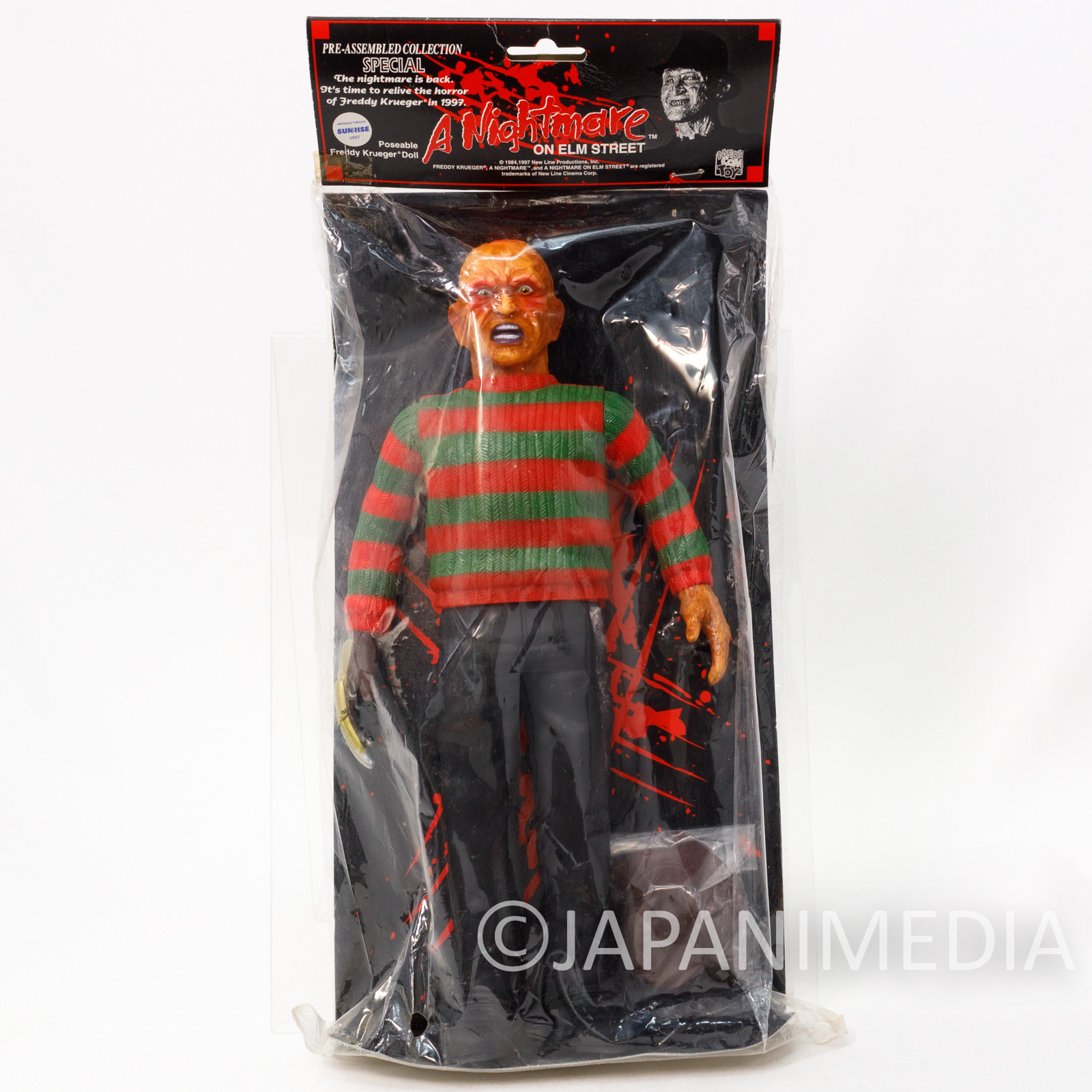 "A Nightmare on Elm Street FREDDY KRUEGER 12"" Soft Vinyl Figure Medicom Toy"