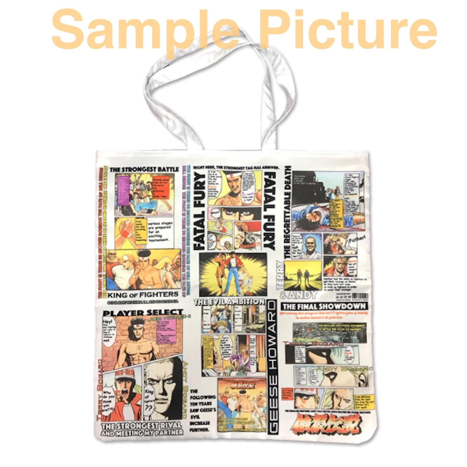 Fatal Fury Tote Bag SNK NEOGEO LAND Limited JAPAN SNK