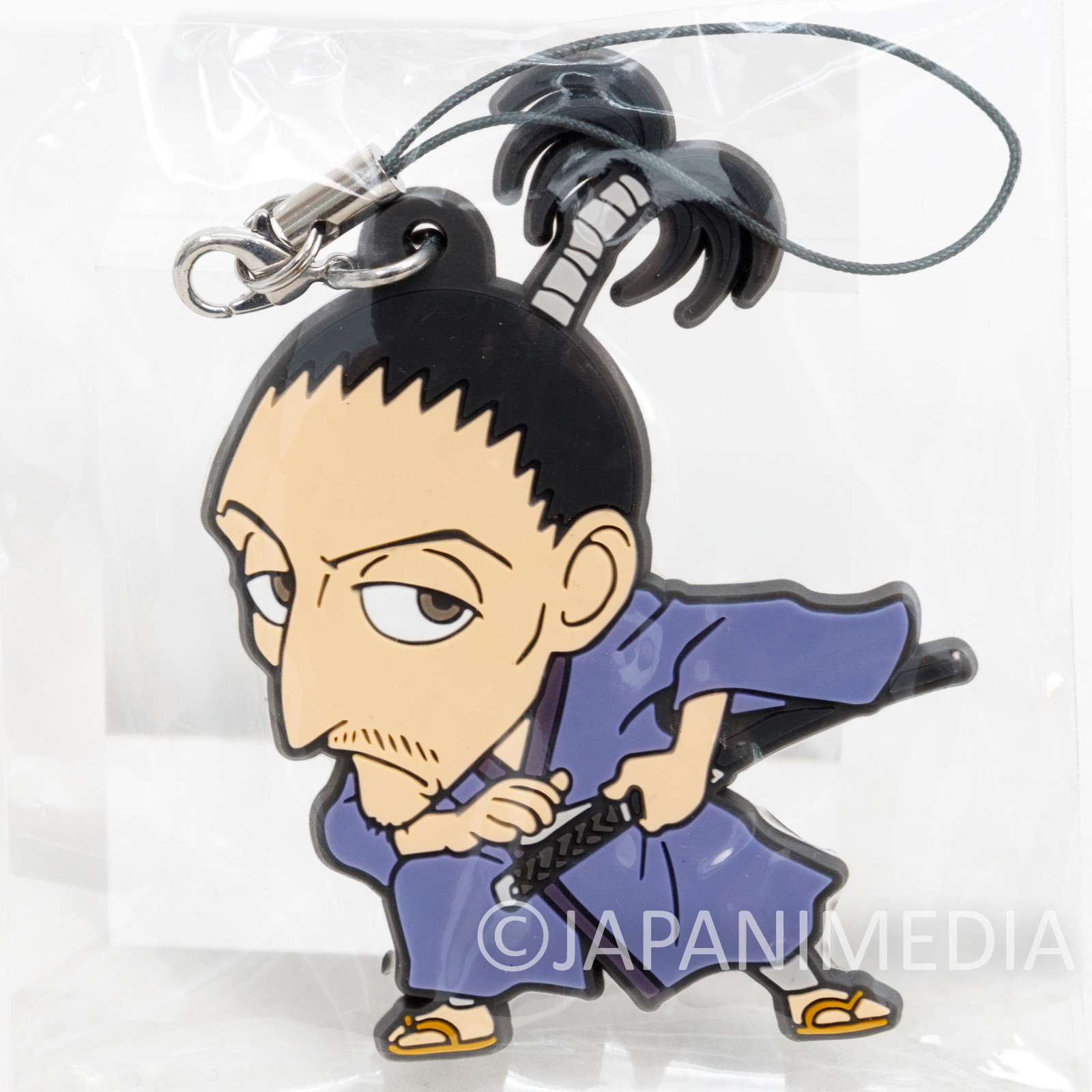 RARE! Hunter × Hunter Phantom Troupe Nobunaga Rubber Mascot Strap