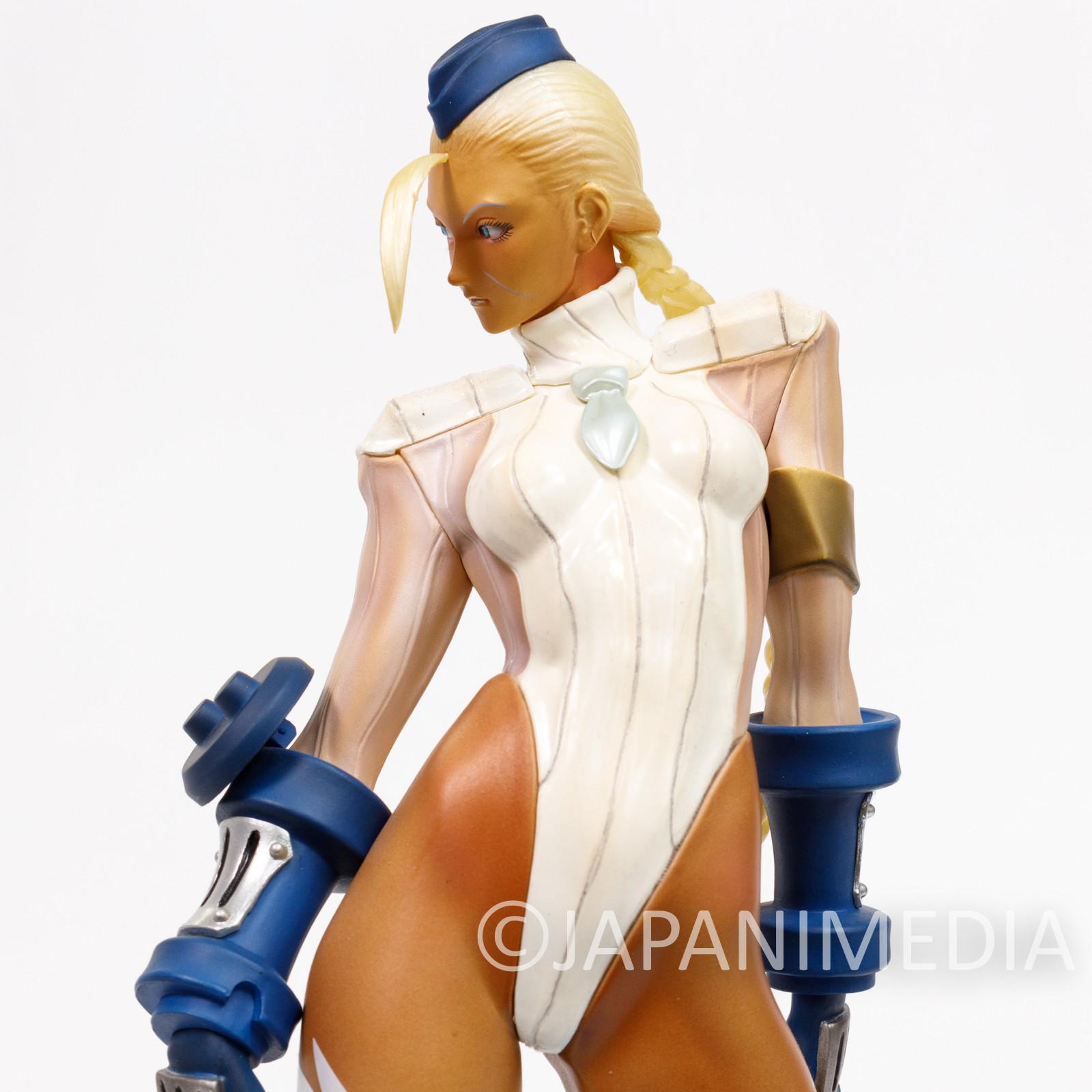 Street Fighter ZERO 3 Cammy Figure Authentic White Ver. Kaiyodo Capcom JAPAN