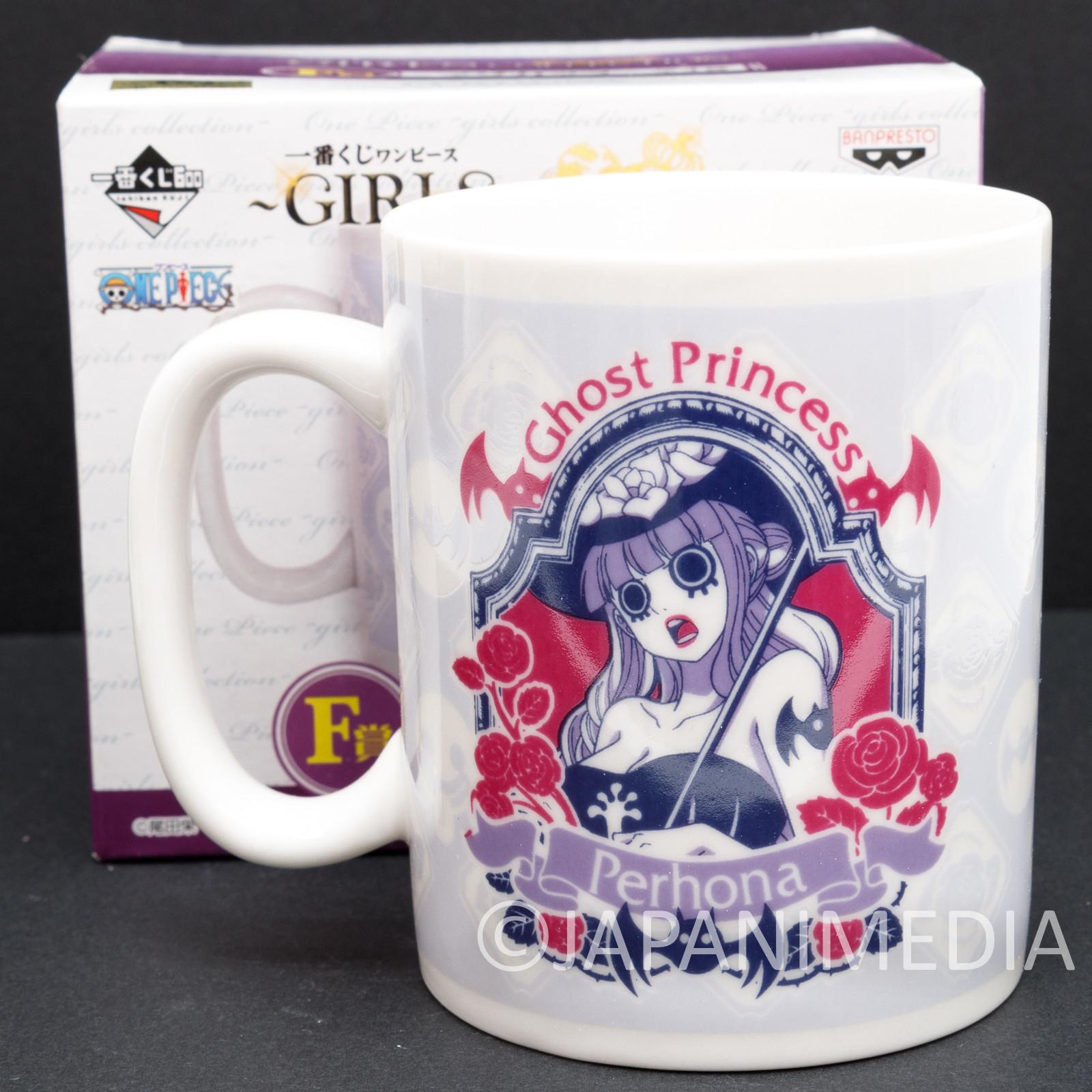 One Piece Perhona Mug Girls Collection Banpresto JAPAN ANIME
