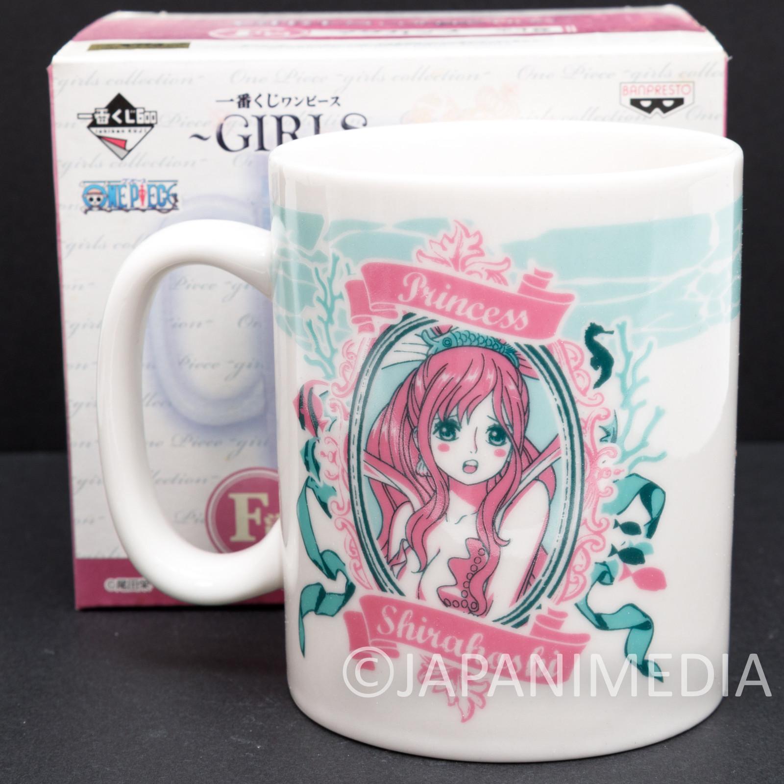 One Piece Princess Shirahoshi Mug Girls Collection Banpresto JAPAN ANIME