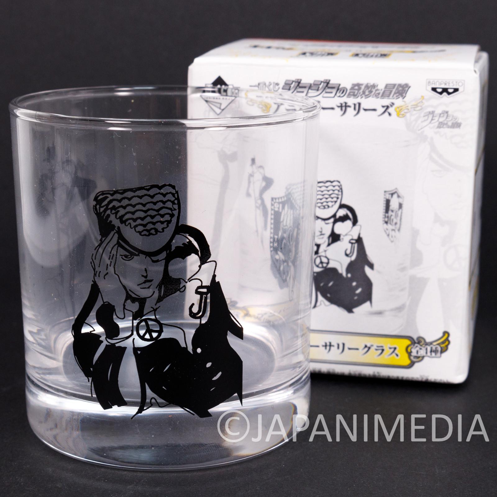 JoJo's Bizarre Adventure Rock Glass Josuke Higashikata JAPAN ANIME
