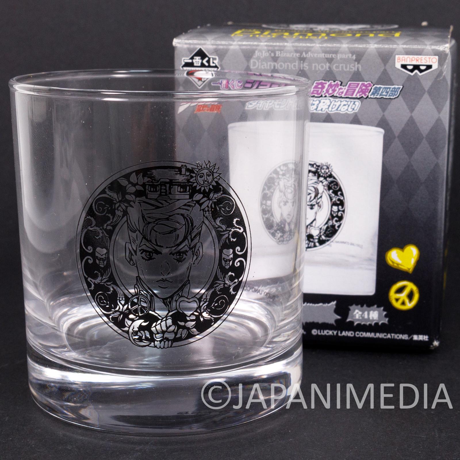 JoJo's Bizarre Adventure Rock Glass Josuke Higashikata JAPAN ANIME 2