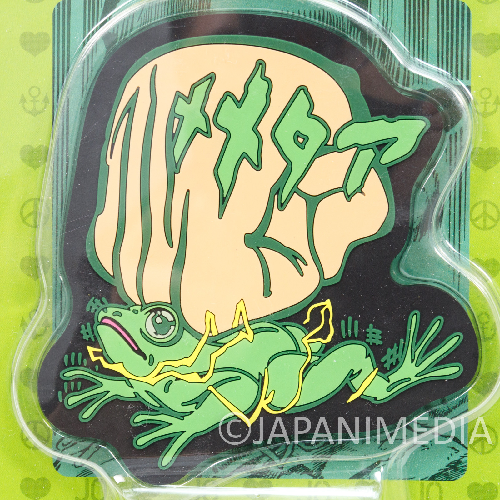 JoJo's Bizarre Adventure Rubber Coaster Memetaaa Ripple Power JAPAN ANIME