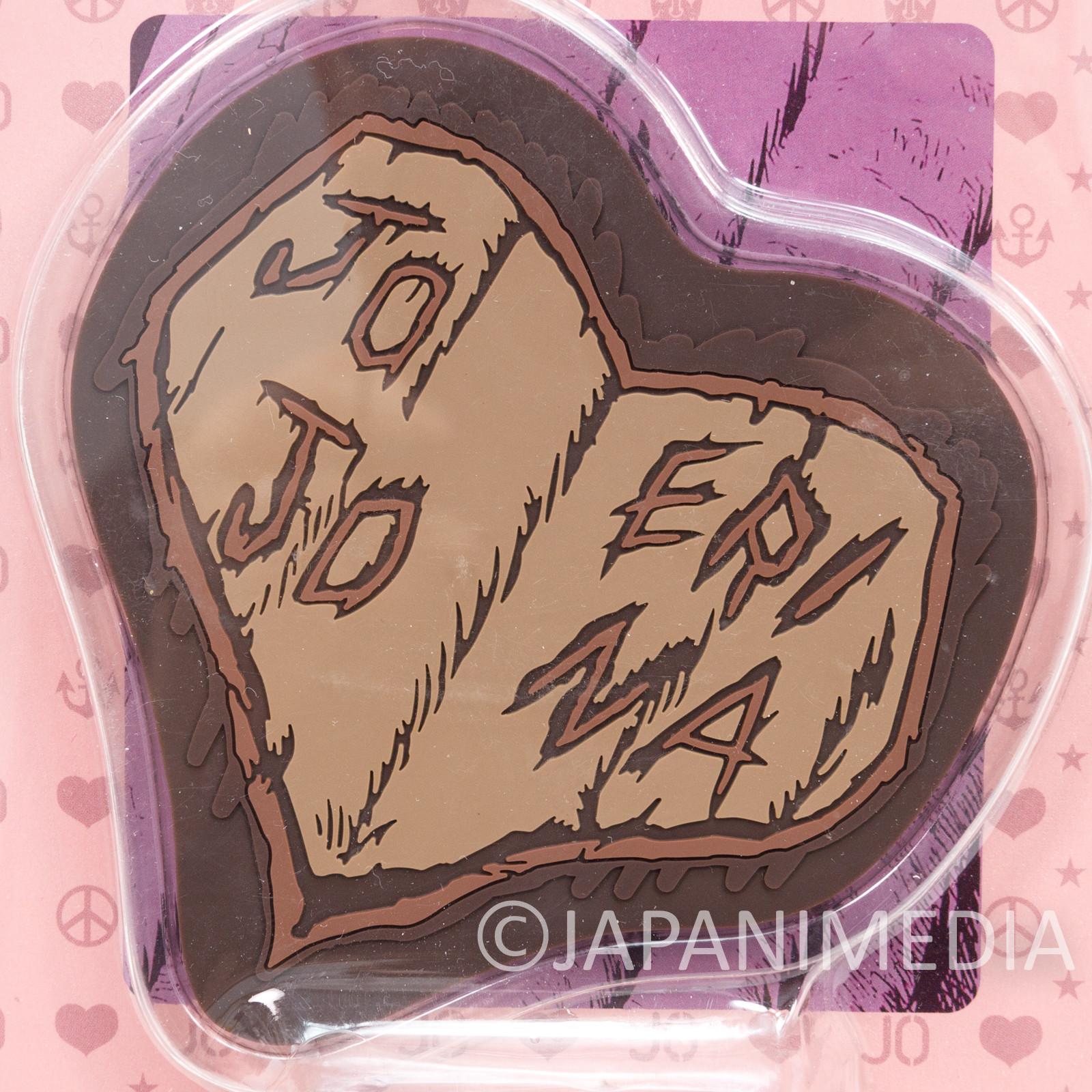 JoJo's Bizarre Adventure Rubber Coaster Jonathan and Erina's Sign of Love ANIME
