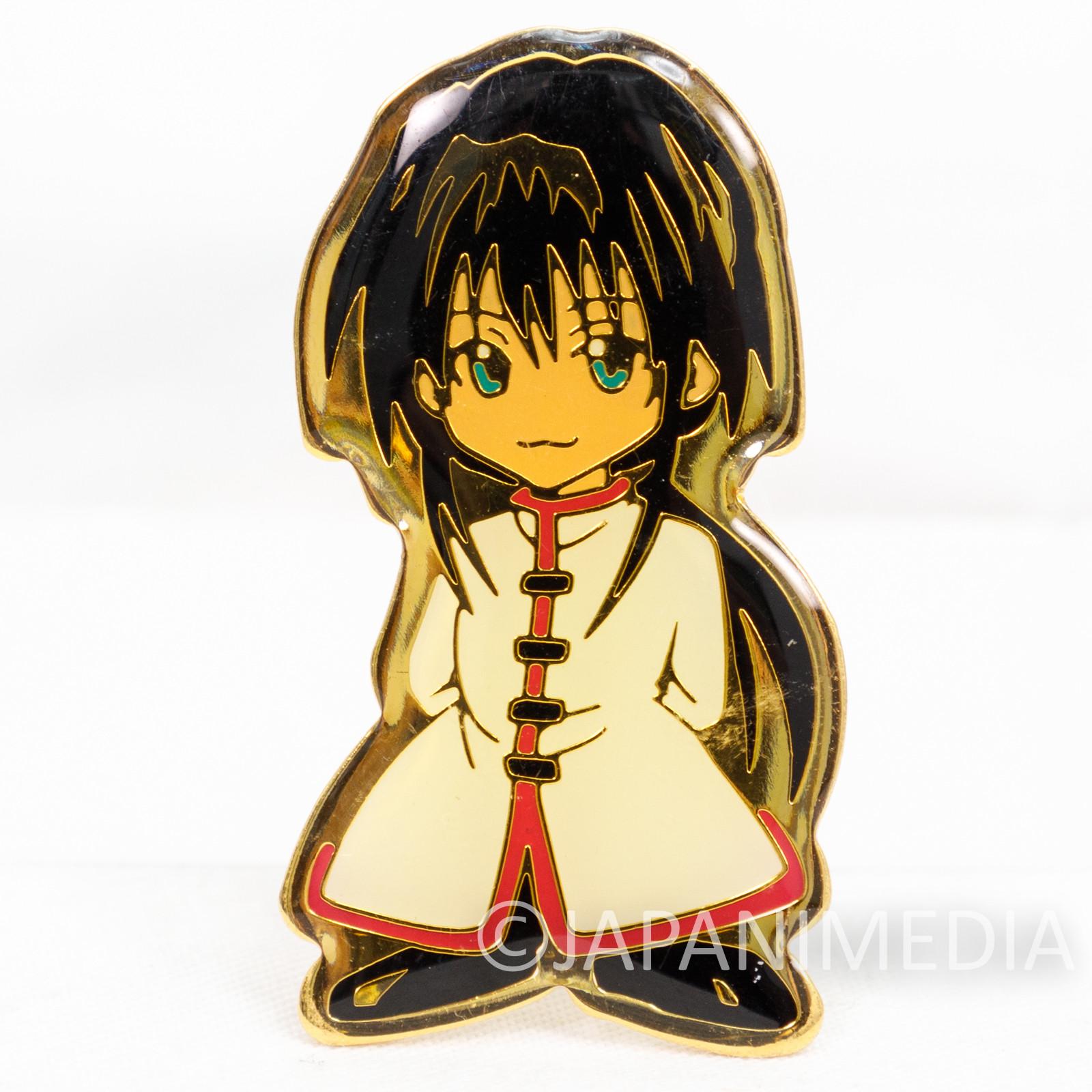 Black Cat Lin Shaolee Character Pins JAPAN ANIME MANGA SHONEN JUMP