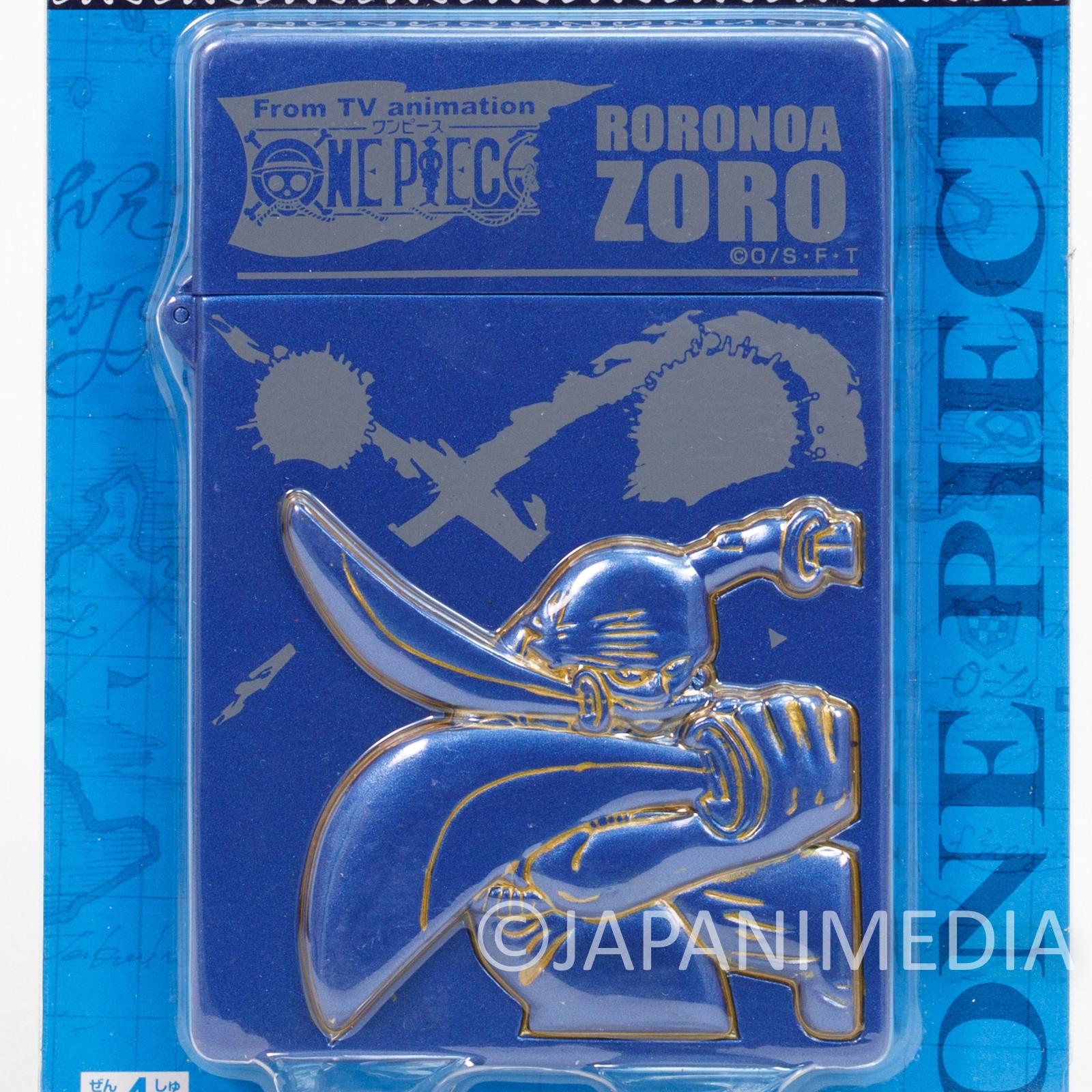 One Piece Roronoa Zolo Relief Card Case JAPAN ANIME