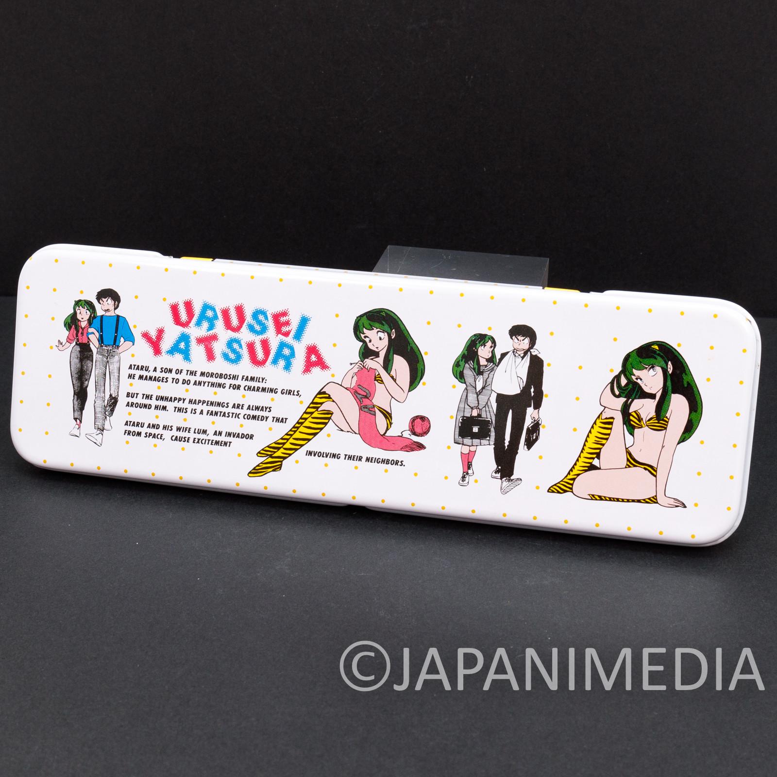 Retro RARE Urusei Yatsura Pen Case LUM JAPAN ANIME MANGA 11