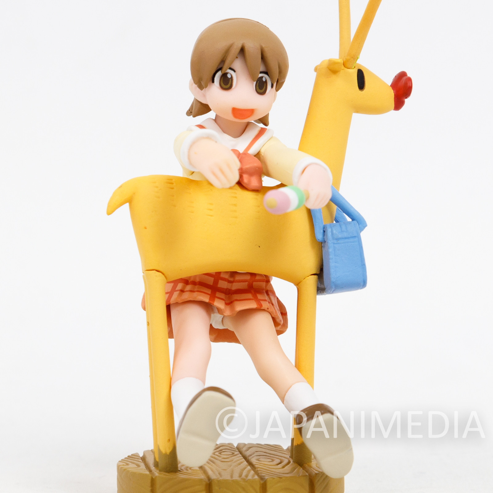 Nichijou Yukko & Deer Small Figure JAPAN ANIME MANGA