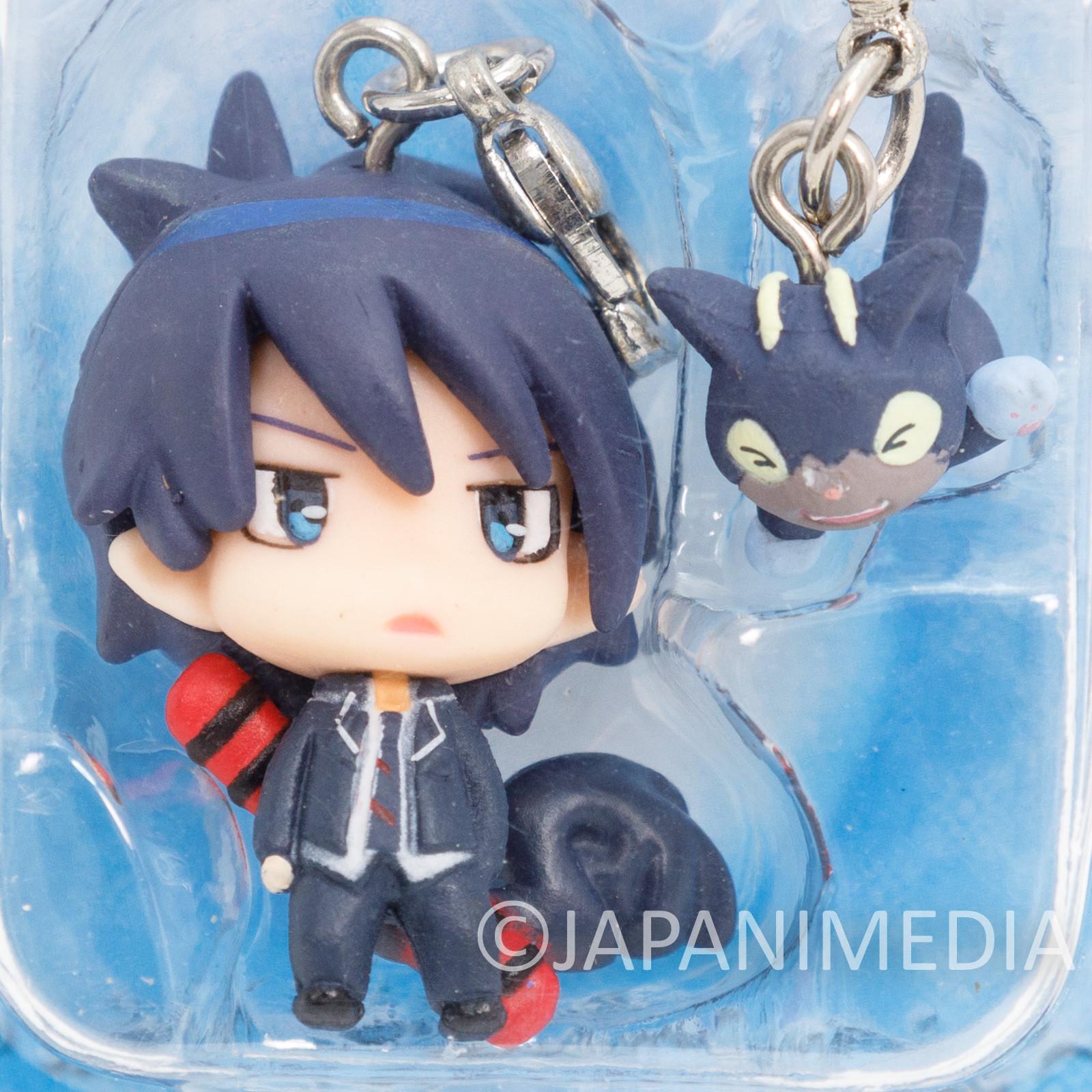 Blue Exorcist Ren Okumura & Kuro Chara Fortune Mini Figure JAPAN ANIME MANGA
