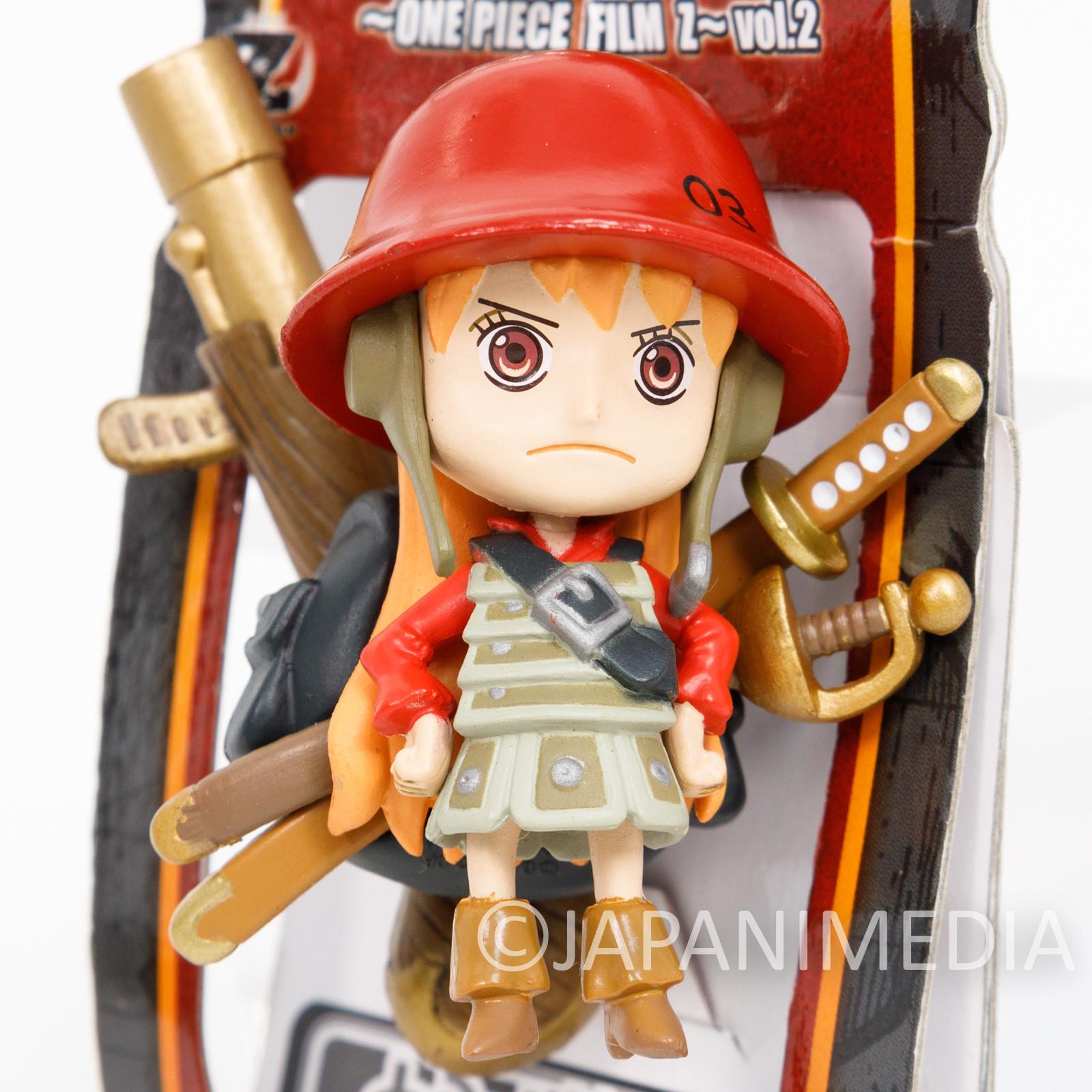 One Piece Film Z Nami Figure Keychain Banpresto JAPAN ANIME