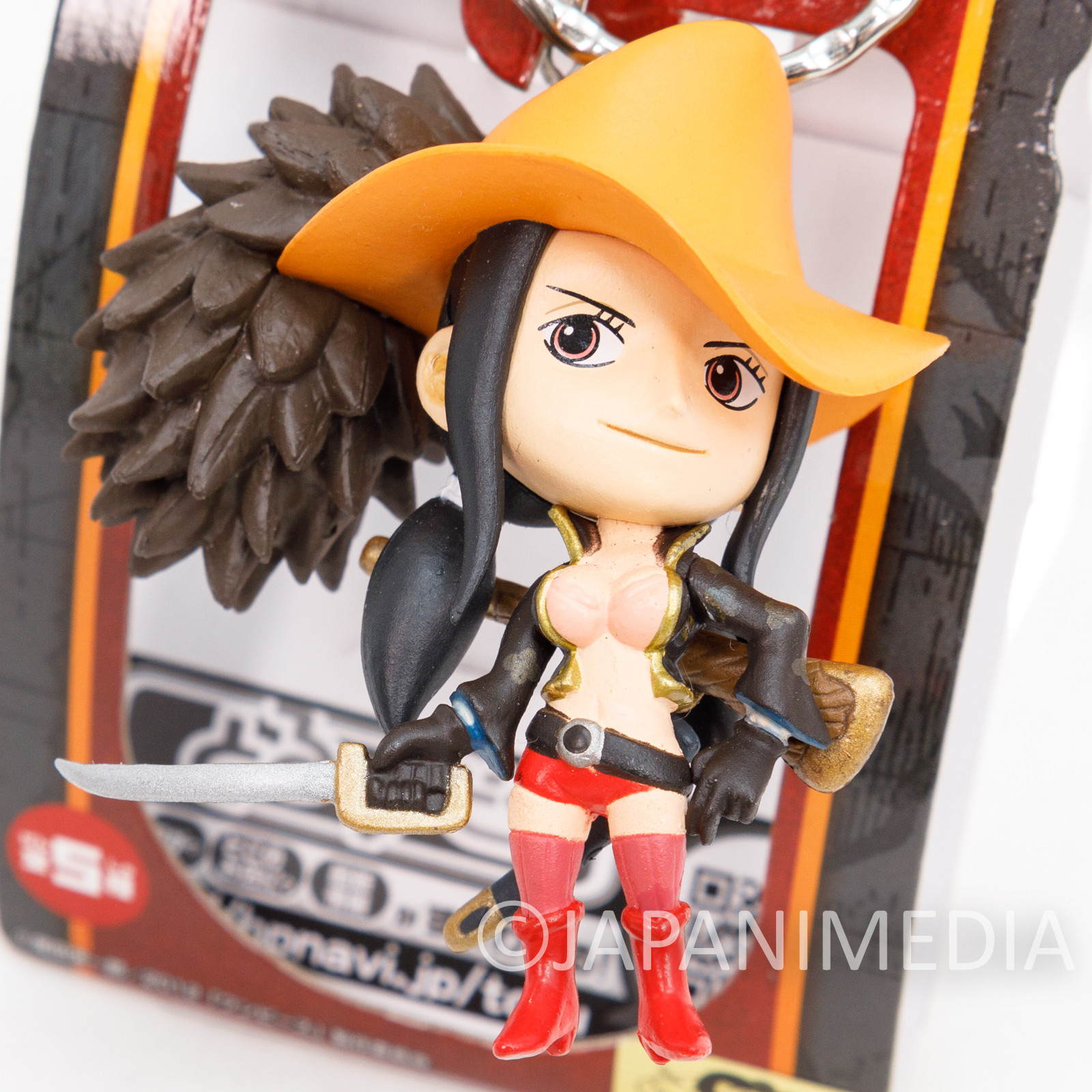 One Piece Film Z Nico Robin Figure Keychain Banpresto JAPAN ANIME