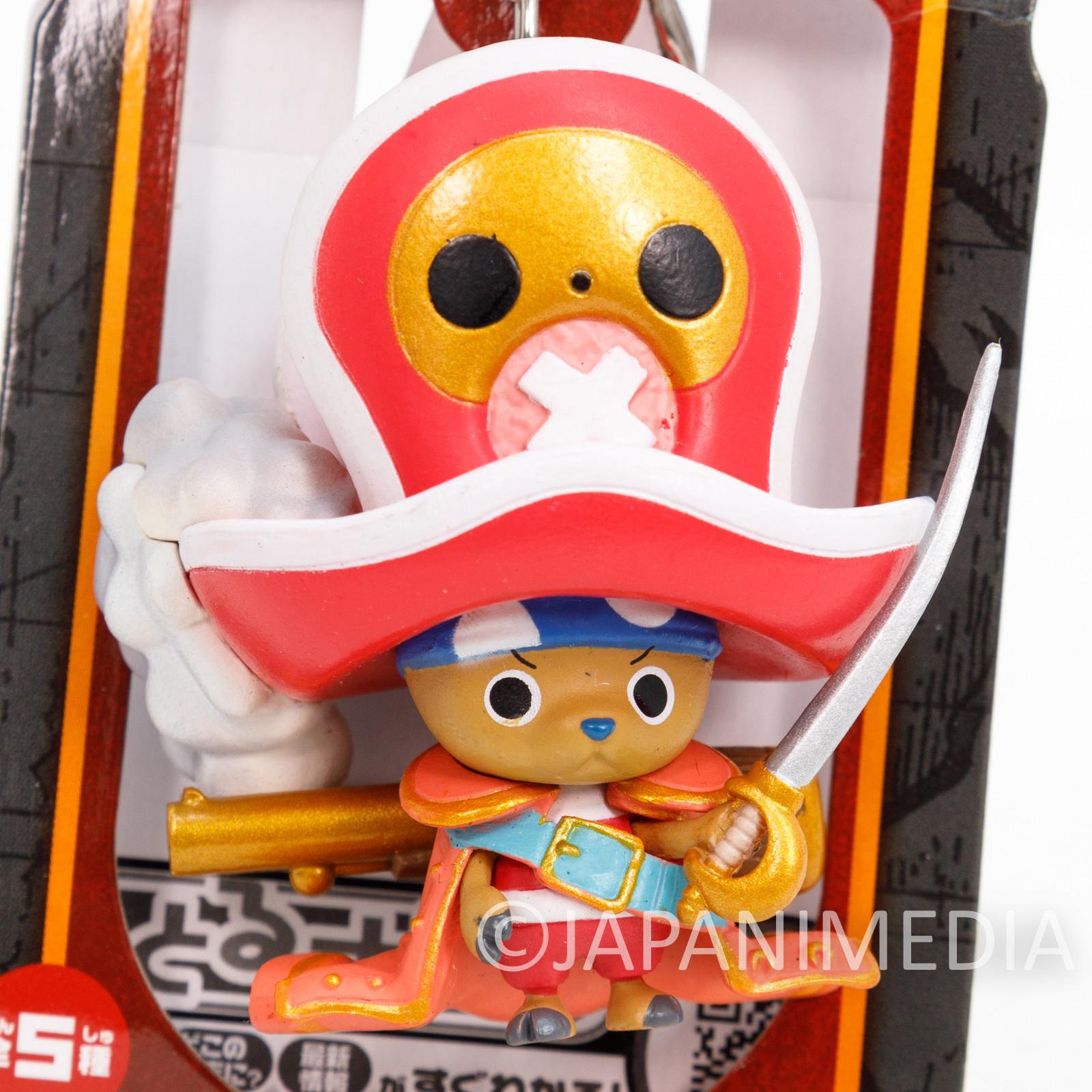 One Piece Film Z Chopper Figure Keychain Banpresto JAPAN ANIME