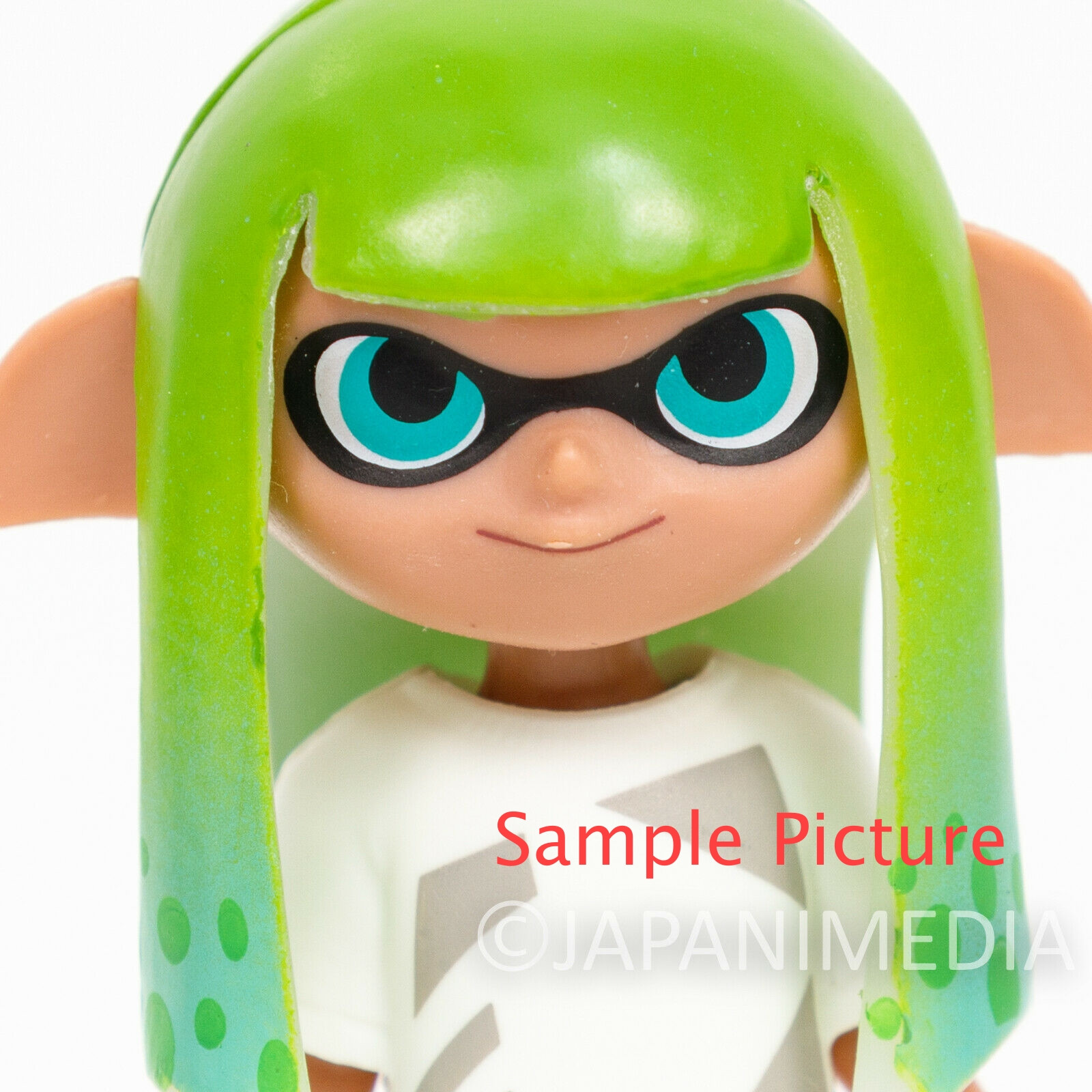 Splatoon 2 Dress-up Figure Gear Collection Squid GIRL 4 JAPAN Nintendo Switch 2