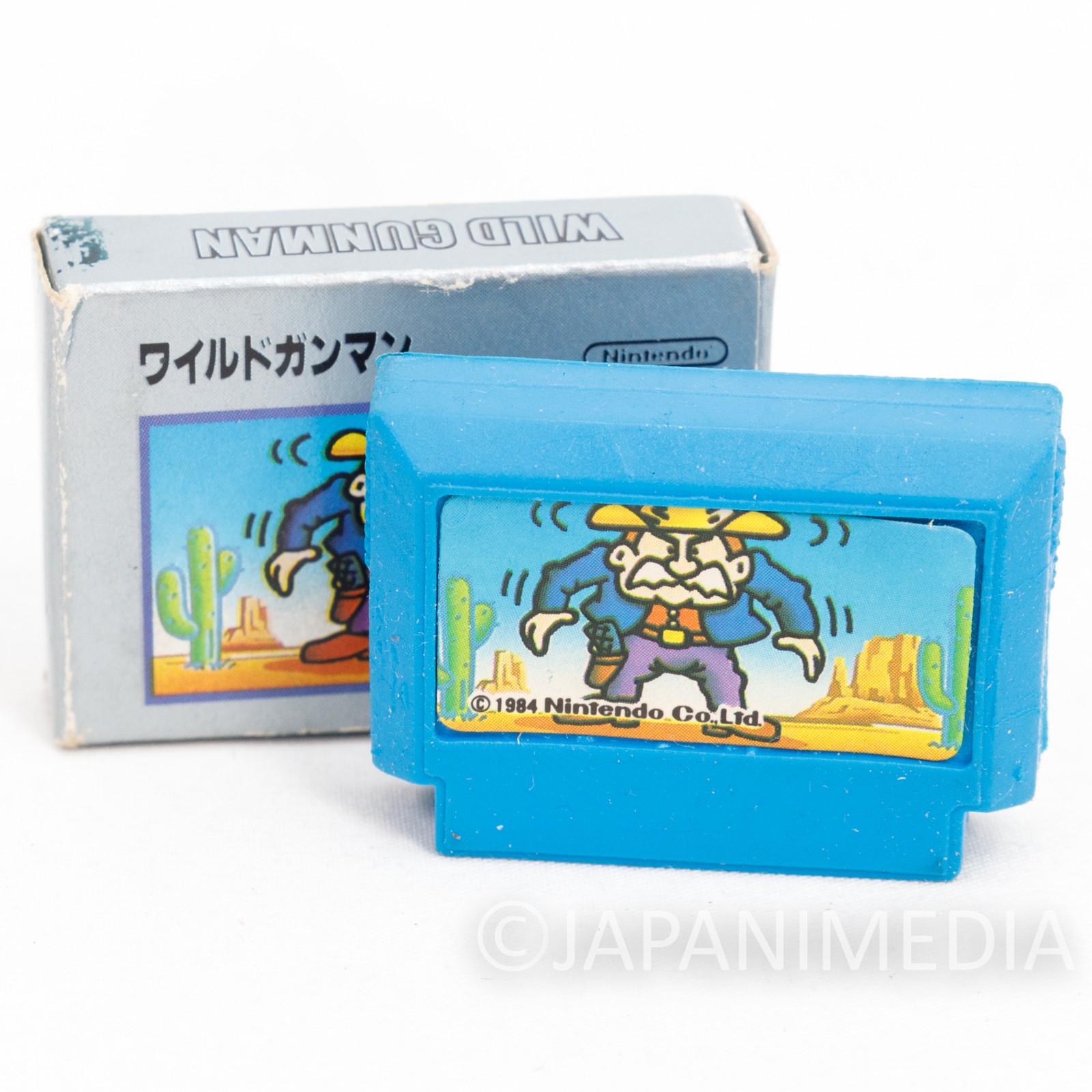 Wild Gunman Cassette Mini Eraser AMADA JAPAN FAMICOM NES Nintendo