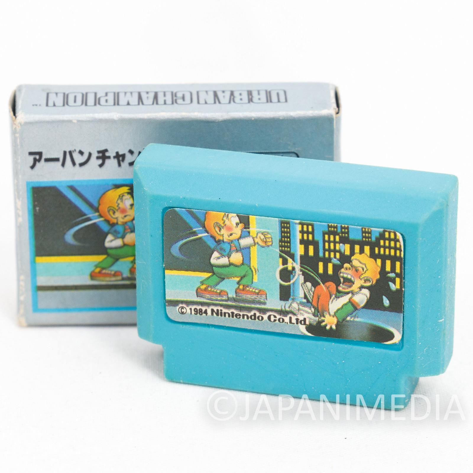 Urban Champion Cassette Mini Eraser AMADA JAPAN FAMICOM NES Nintendo