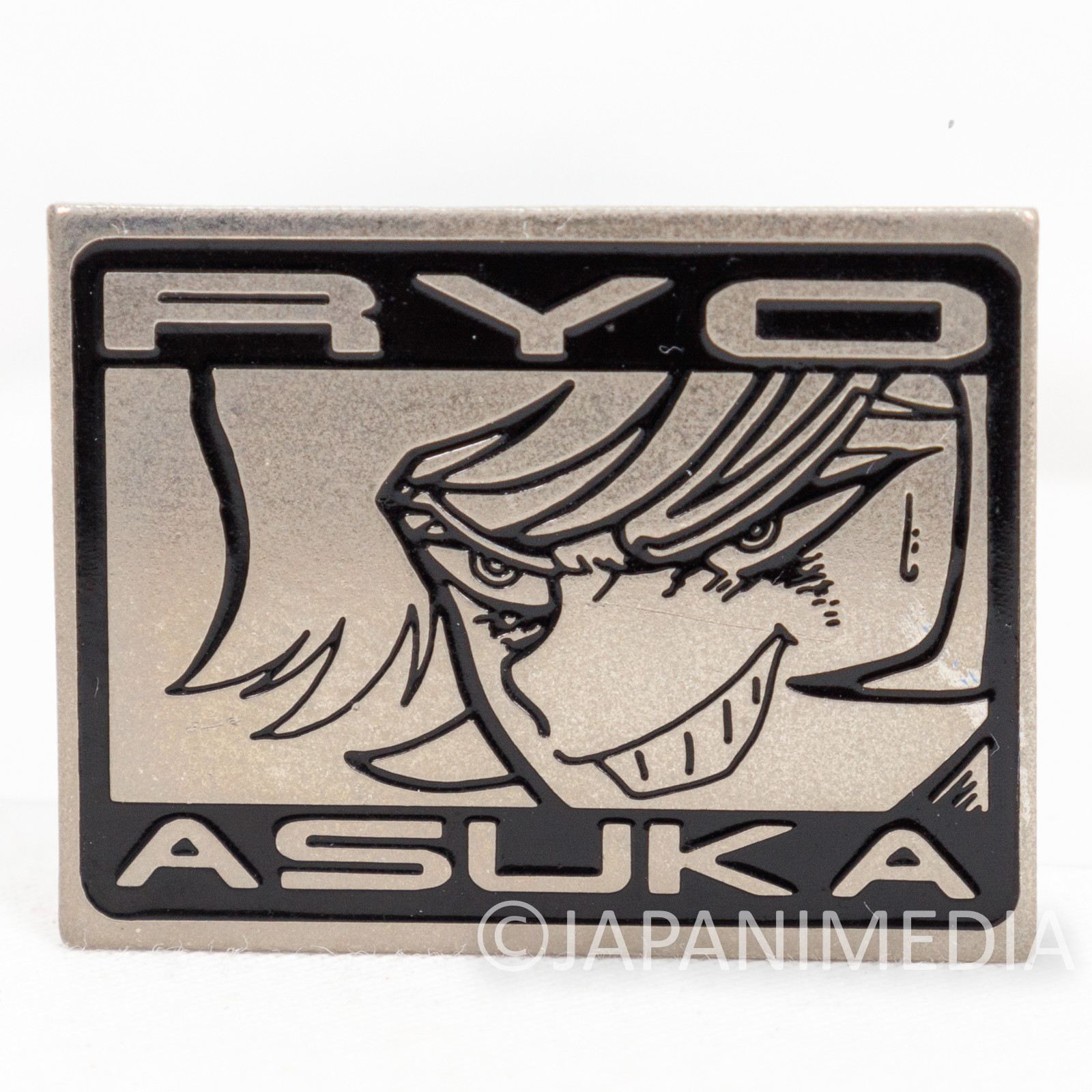 Devilman Asuka Ryo Metal Pins JAPAN ANIME MANGA NAGAI GO