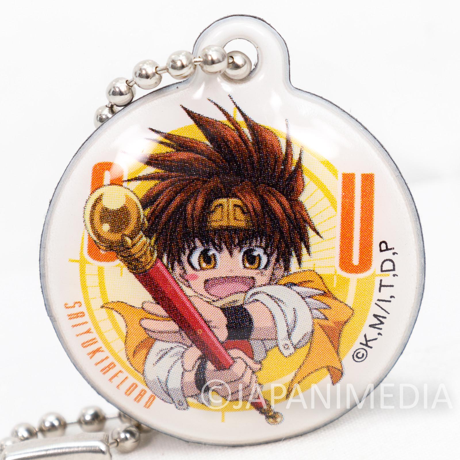 Gensomaden SAIYUKI Son Goku Screen Cleaner Mascot w/Ballchain