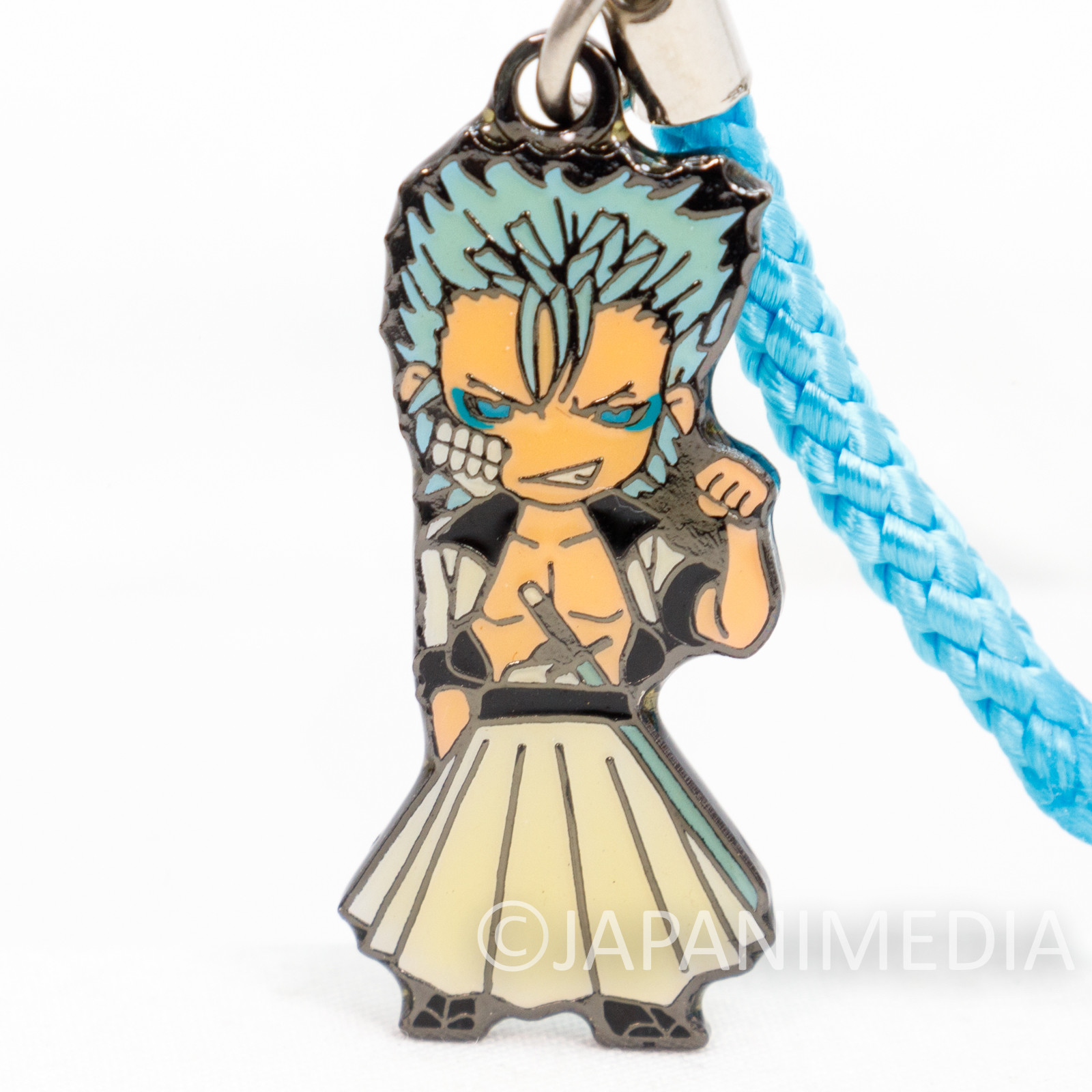 BLEACH Grimmjow Jaegerjaquez Character metal Mascot Strap JAPAN ANIME MANGA