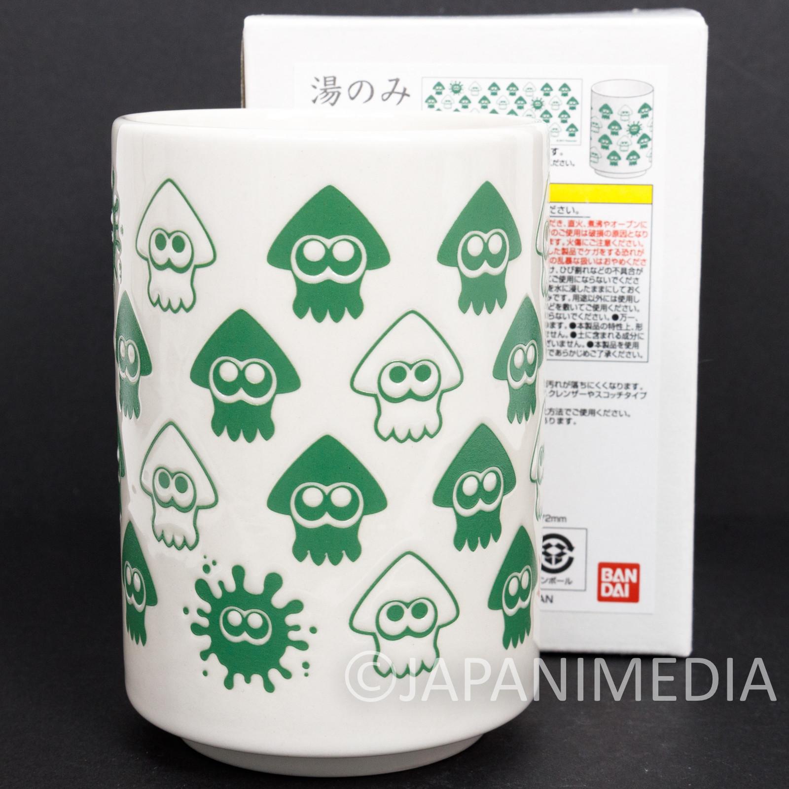 Splatoon Yunomi Japanese Teacup BANDAI JAPAN Nintendo Switch