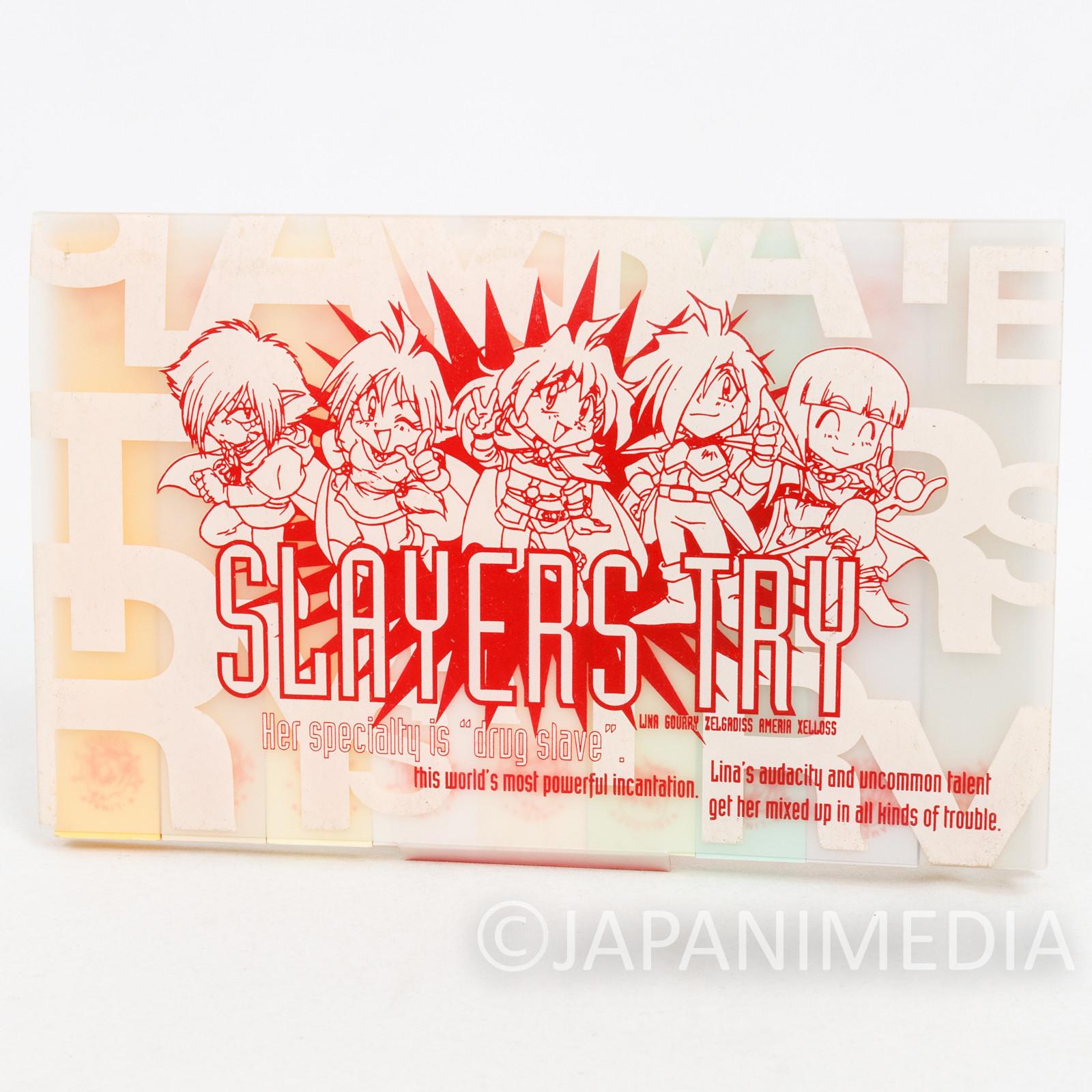 Slayers TRY Sticky Notes Set JAPAN ANIME